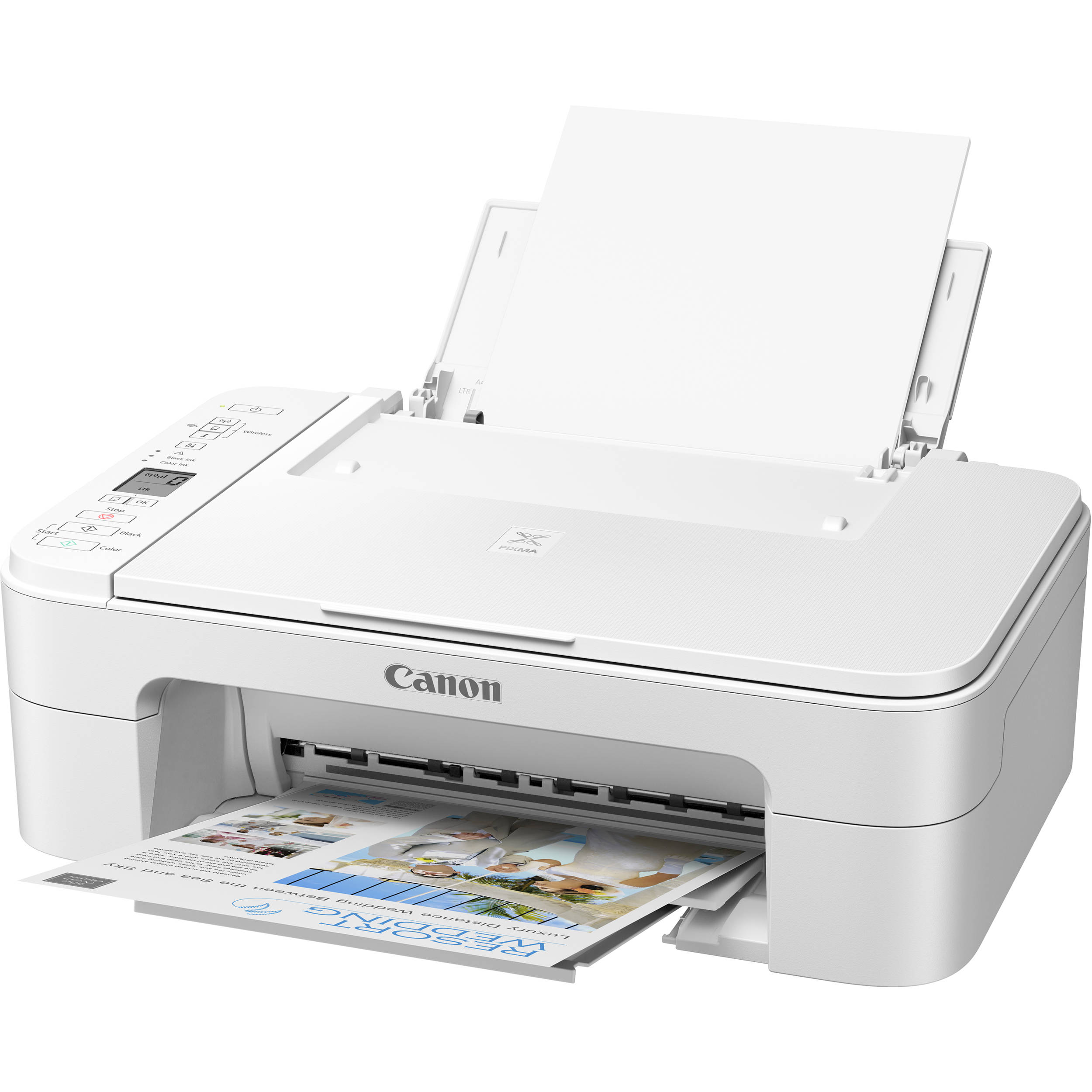Canon PIXMA 490 Wirelss Printer All In One Printing Copier Scanner /& Fax Machine