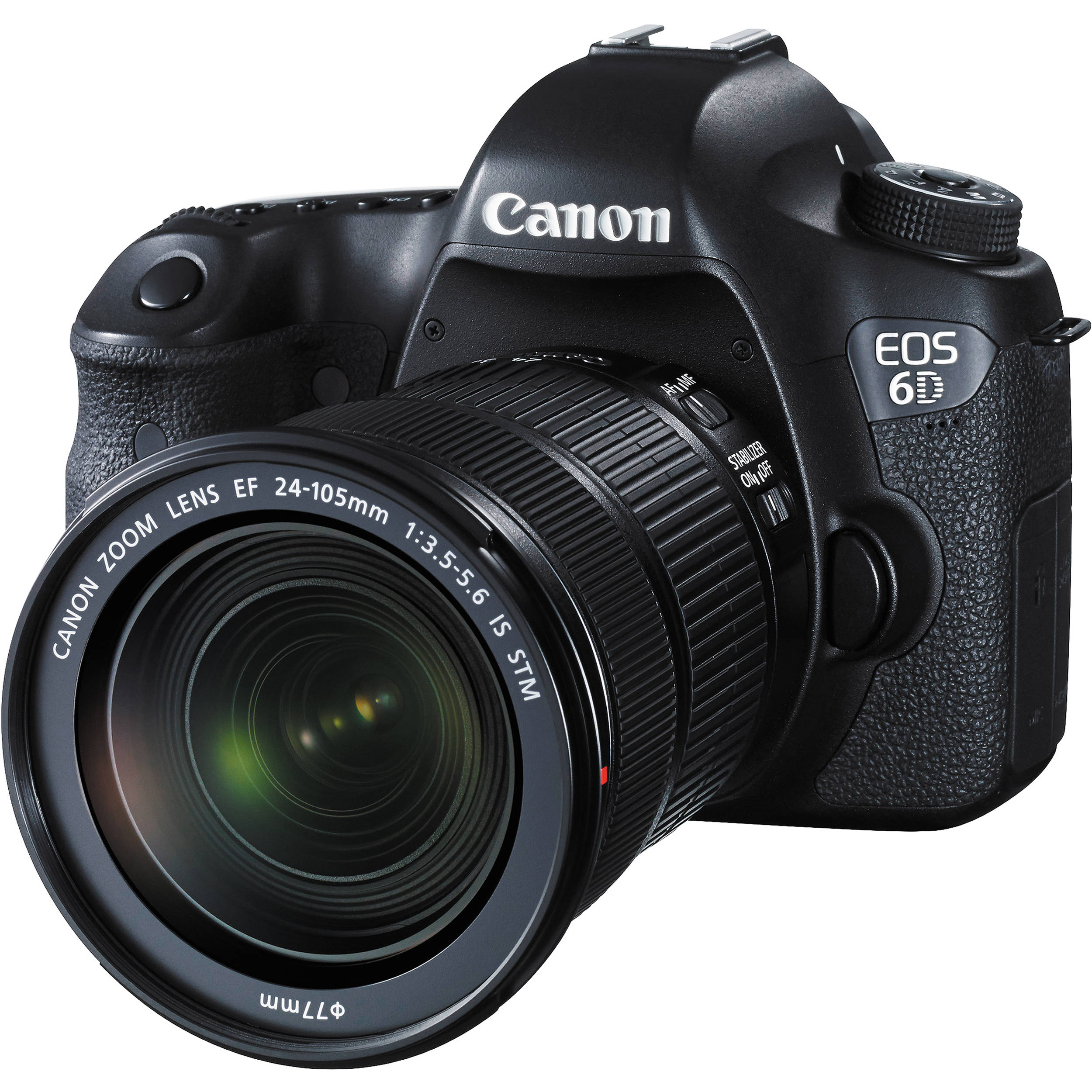 Canon EOS 6D DSLR Camera with 24105mm f/3.55.6 STM 8035B106