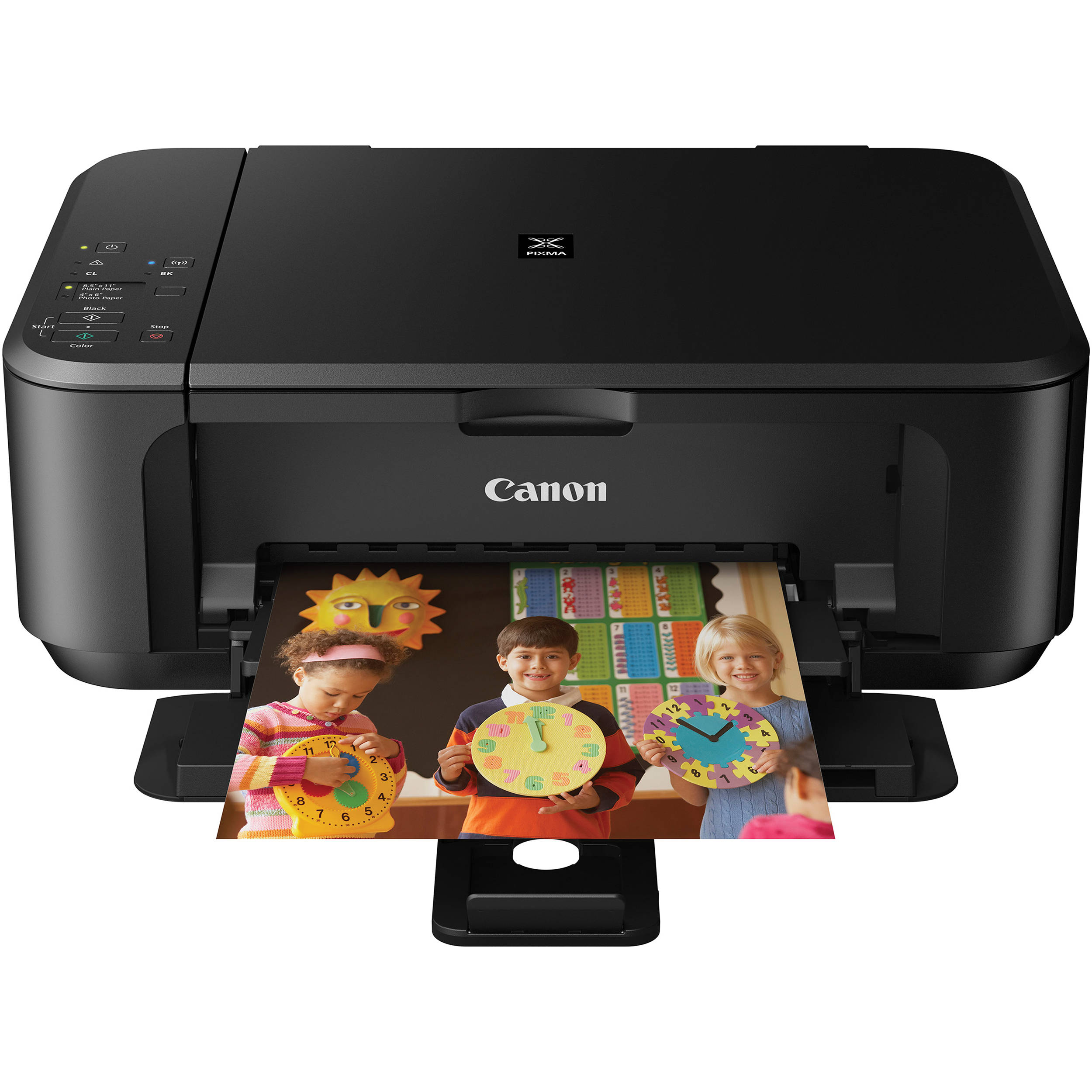 Canon PIXMA MG3520 Wireless Color All-in-One Inkjet ...