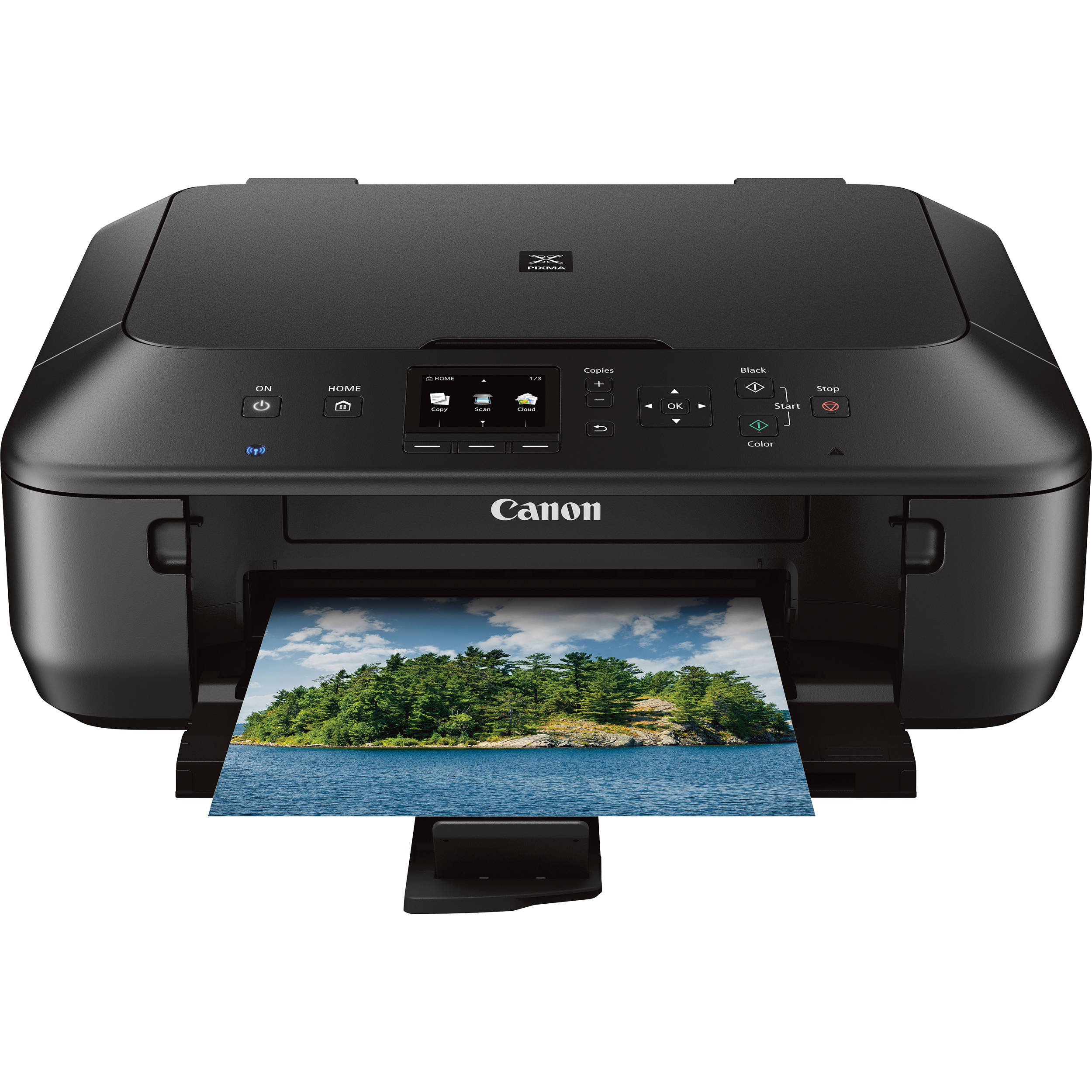 Canon Pixma Mg2525 All In One Inkjet Printer 0727c003