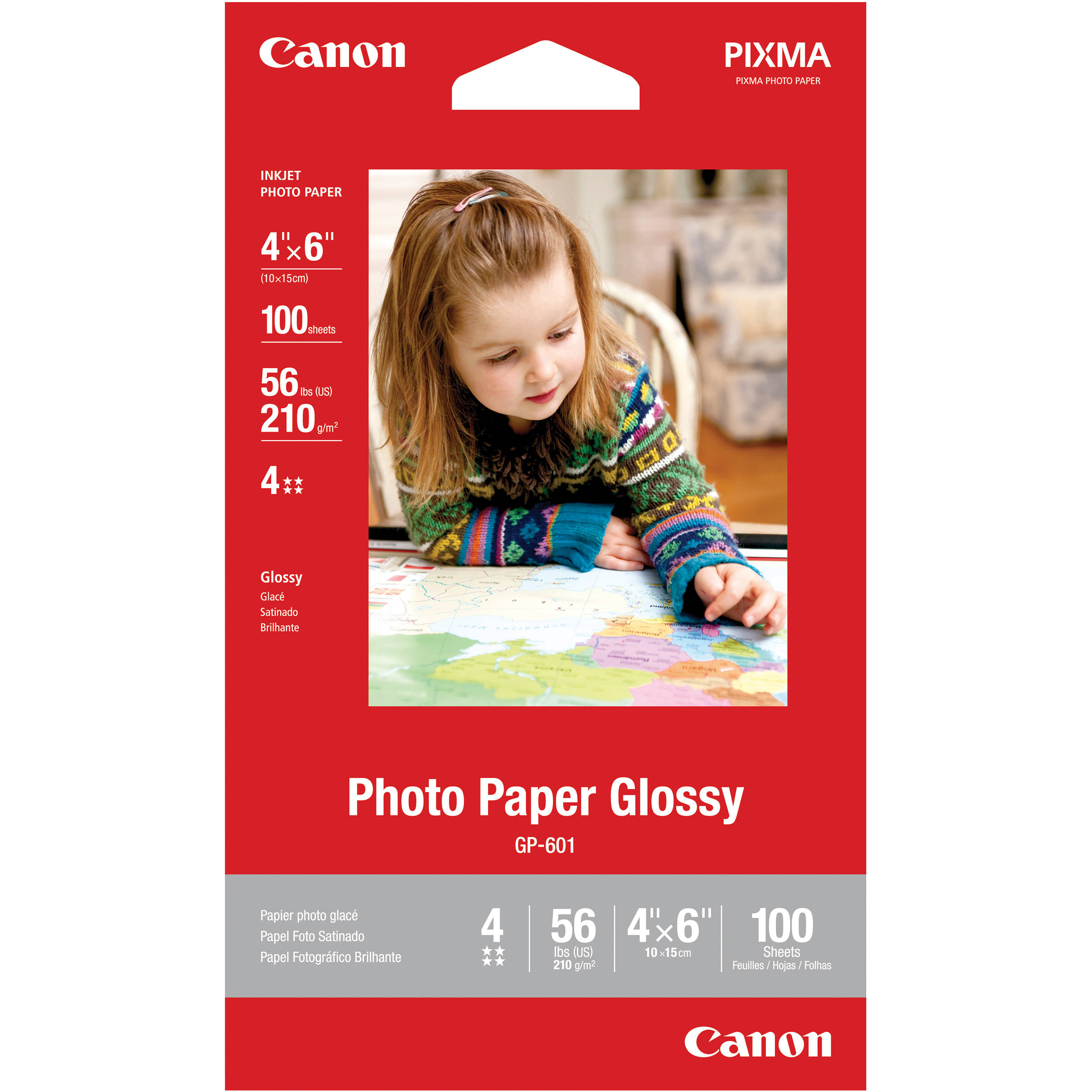 glossy photo paper weight