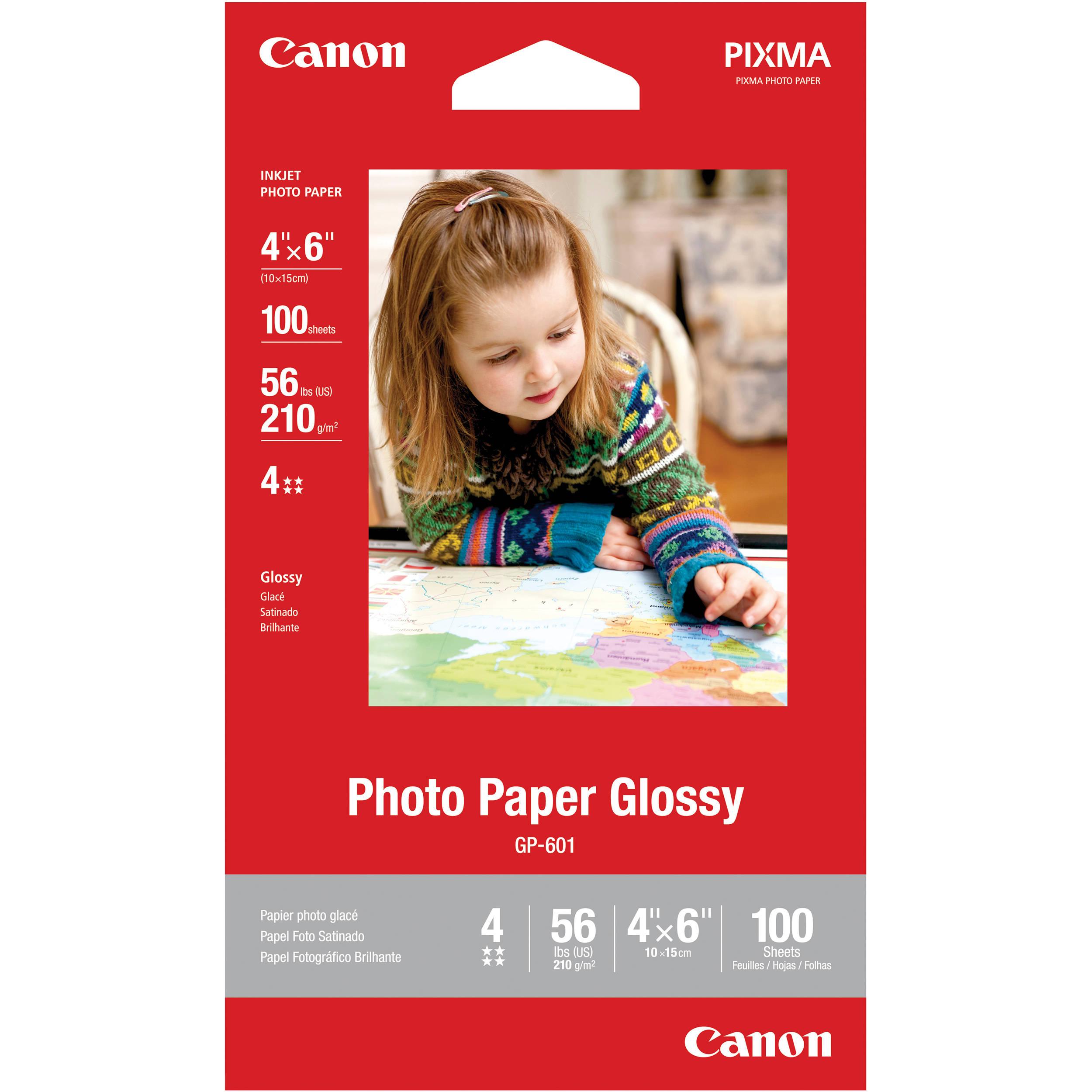 Compare Canon Photo Paper Plus Glossy Ii 4 X 6 Vs Canon Photo Paper