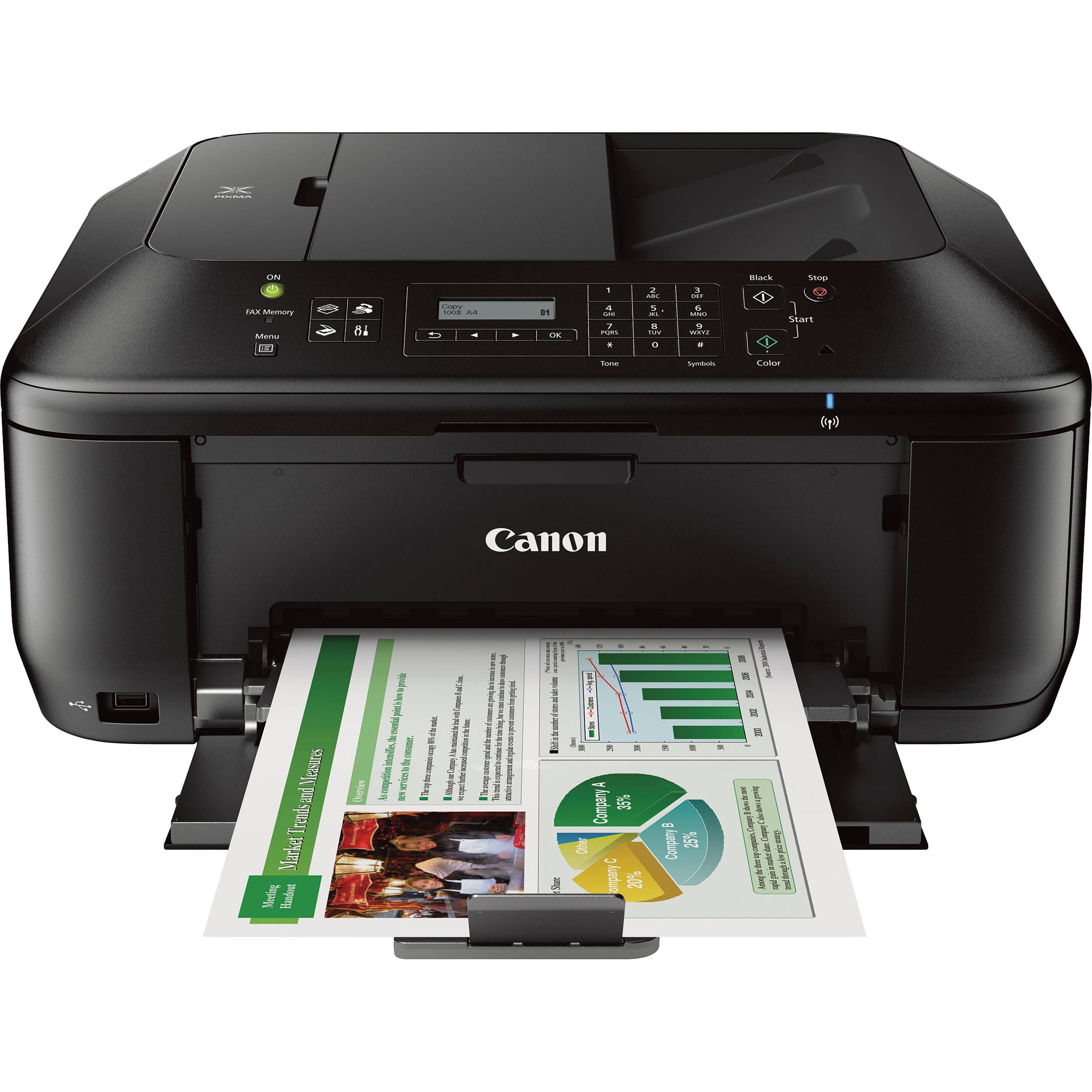 Color printer wireless - Canon Pixma Mx532 Wireless All In One Inkjet Printer