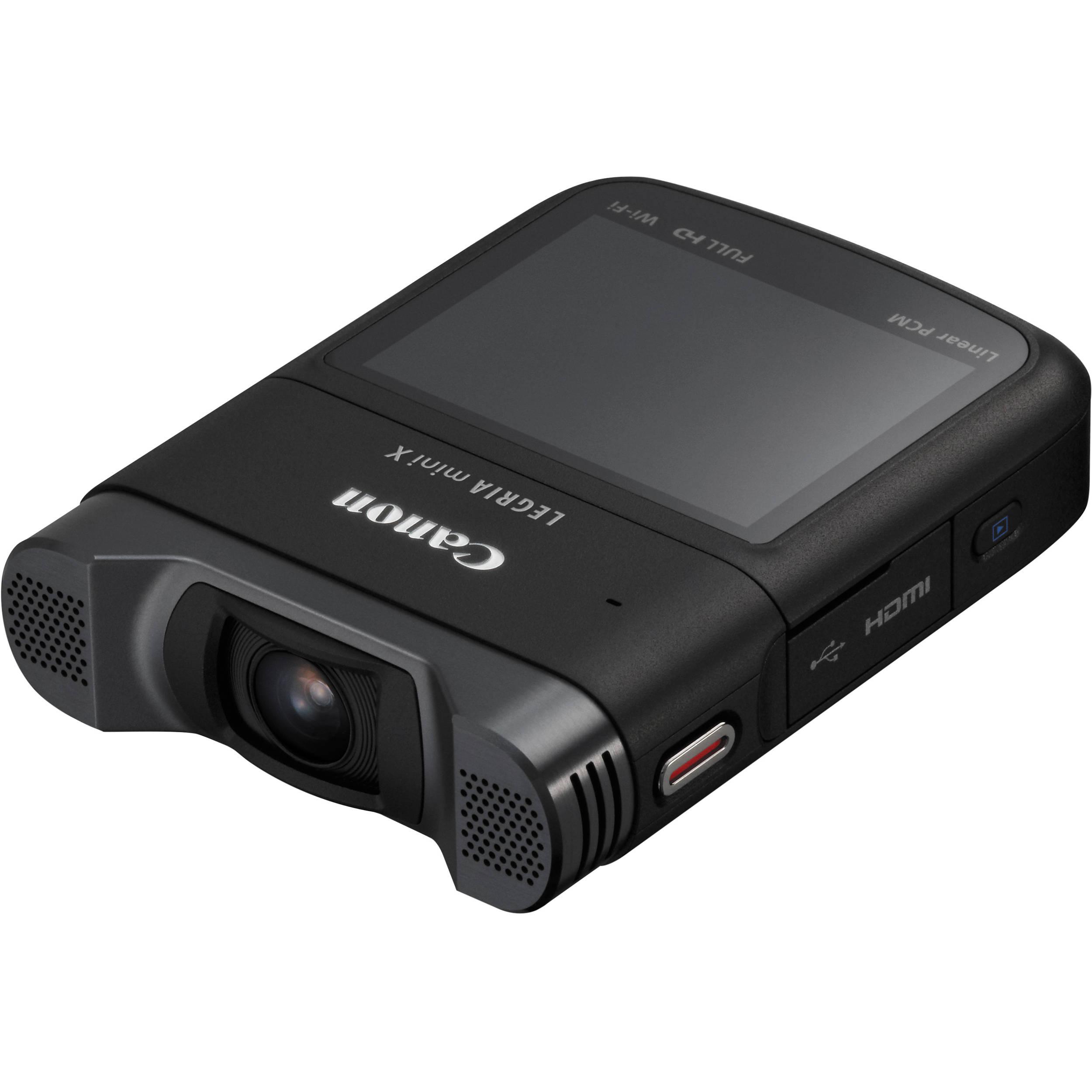 Canon LEGRIA mini X Full HD Camcorder (PAL) 9114B004AA B&H ...