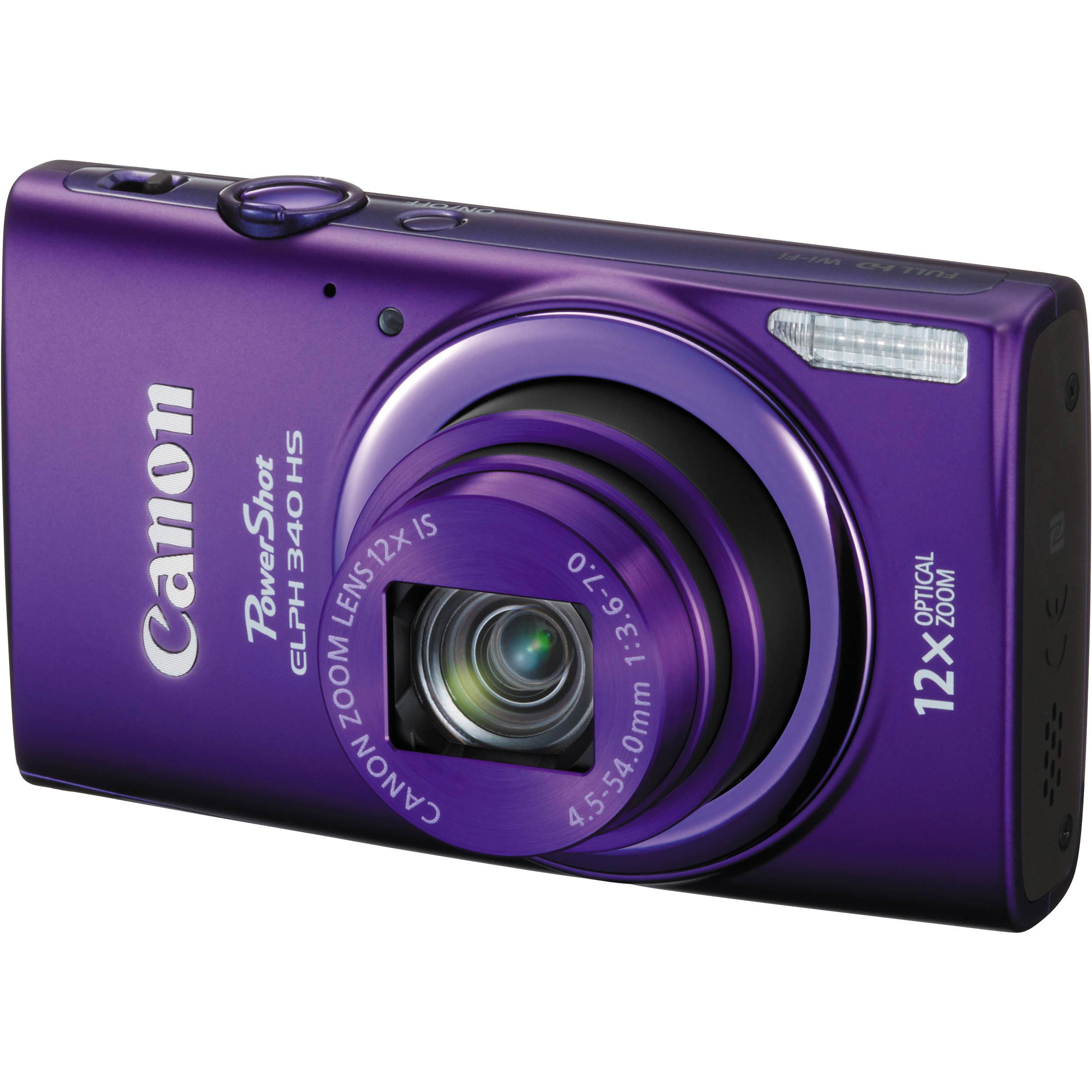canon powershot elph 340 hs digital camera purple 9350b001 b h rh bhphotovideo com canon powershot elph 340 hs manual pdf Canon PowerShot N110