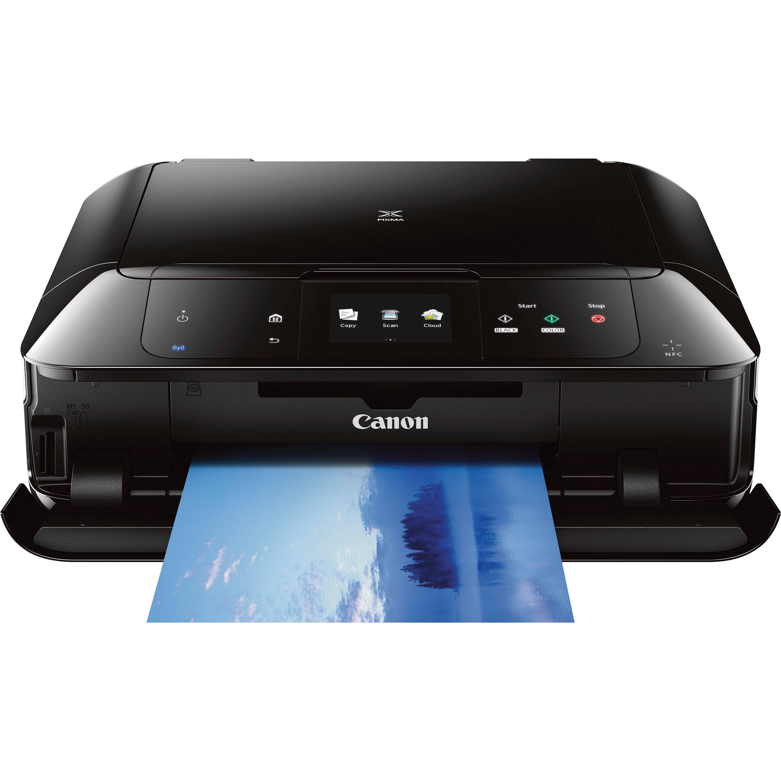 PIXMA MG7520 Wireless All-in-One Inkjet Printer (Black)