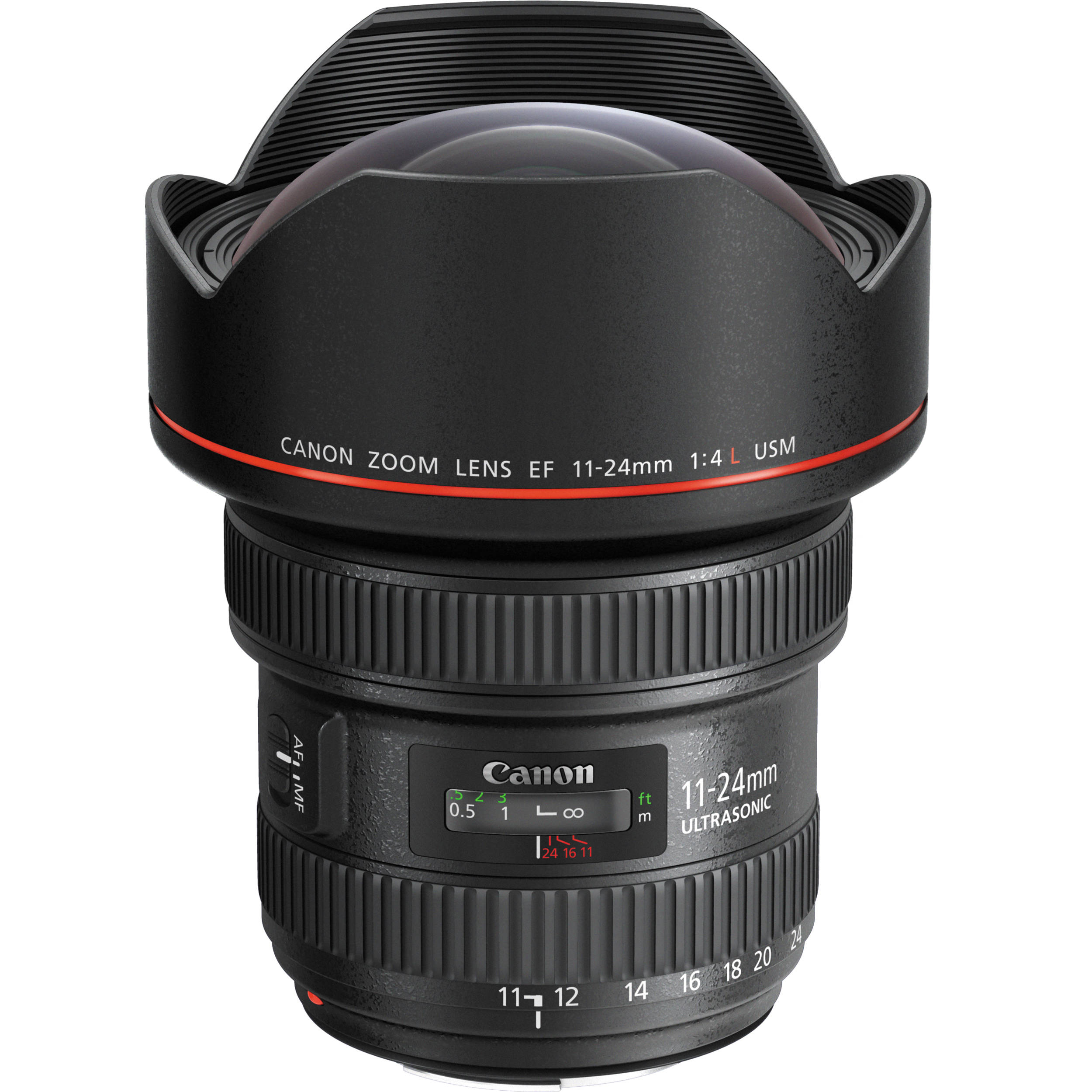 Canon Ef 11 24mm F 4l Usm Lens 9520b002 B Amp H Photo Video