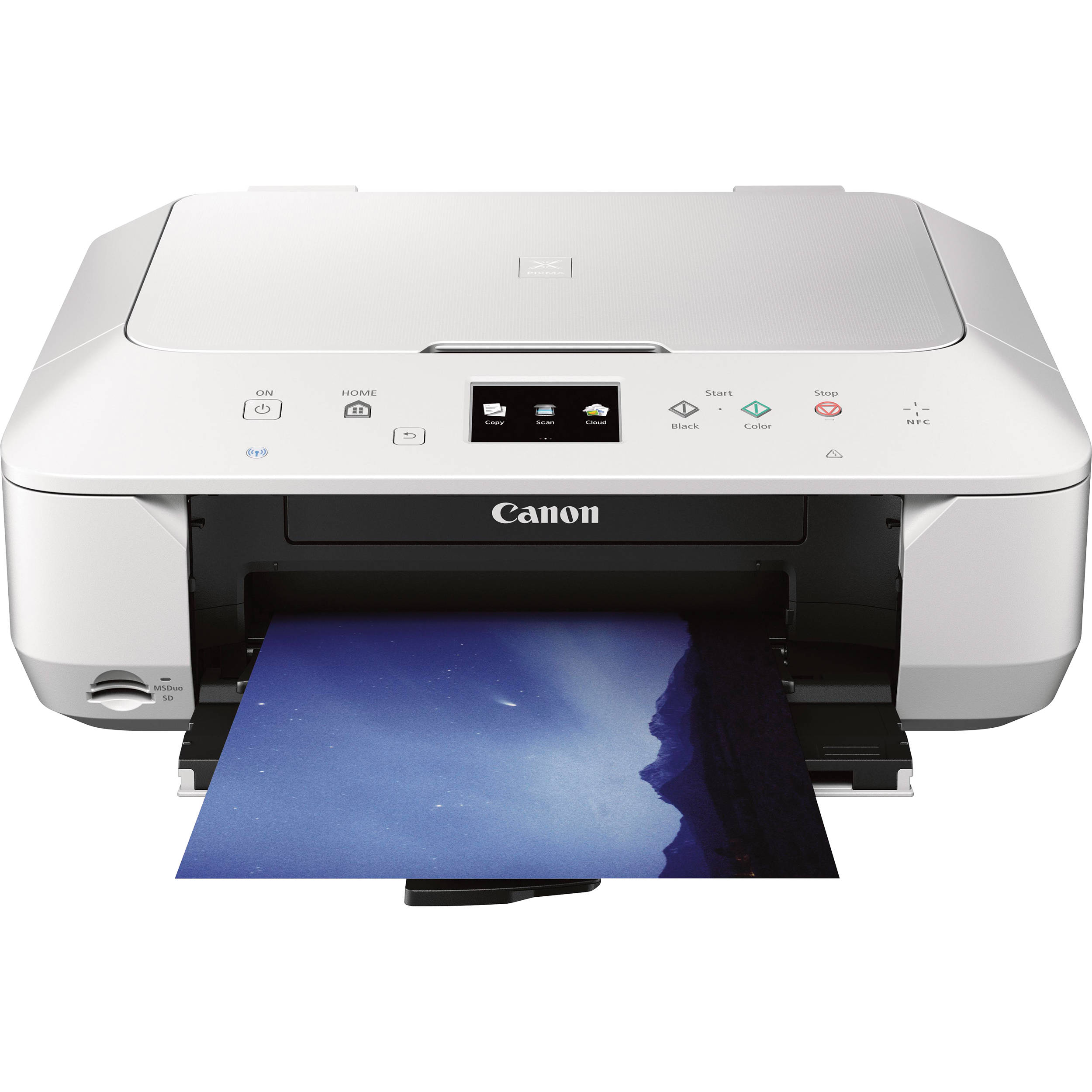 Canon Pixma Mg6620 Wireless Photo All In One Inkjet 9539b022 Bh