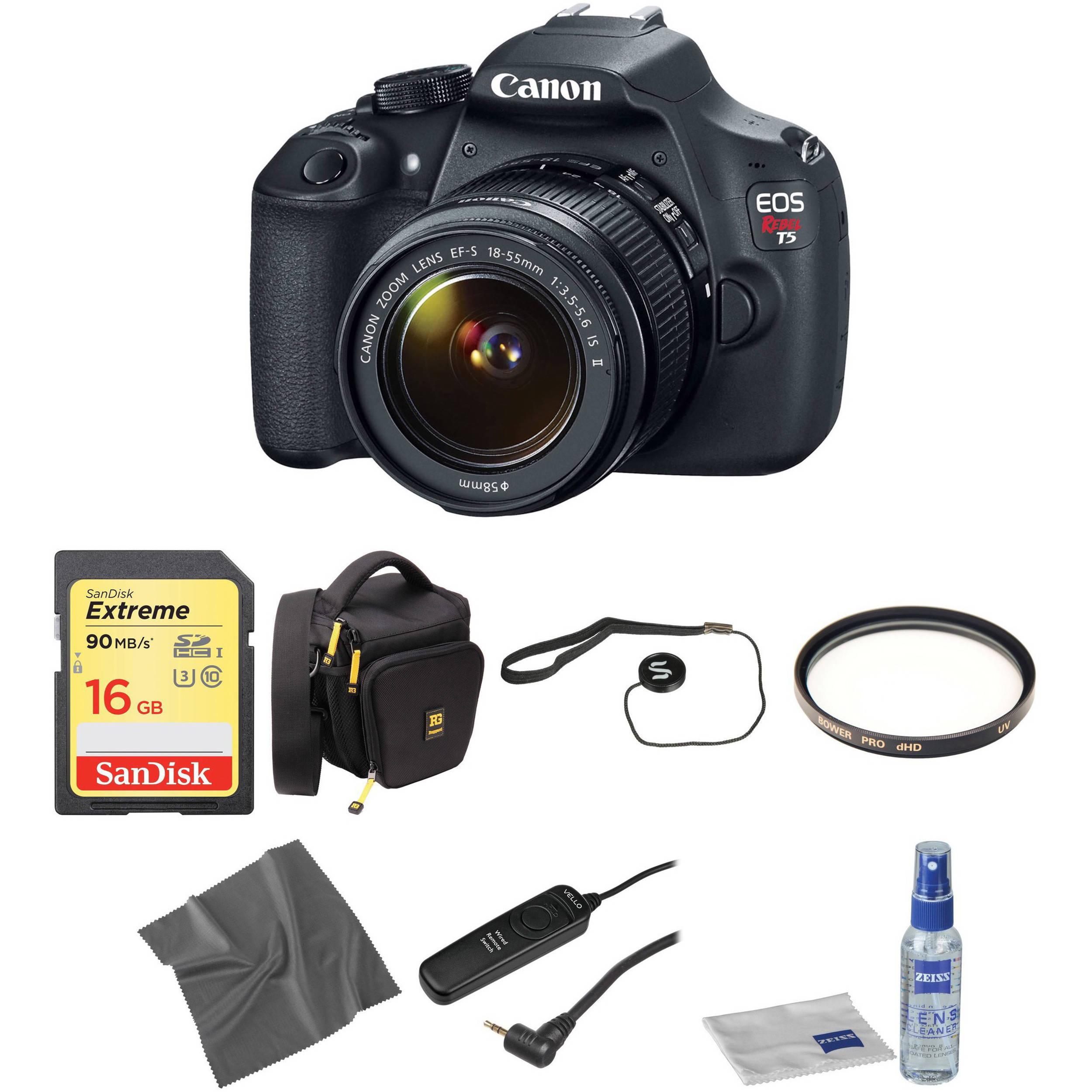 Canon eos rebel t5 digital camera : Hatfield fitness centre