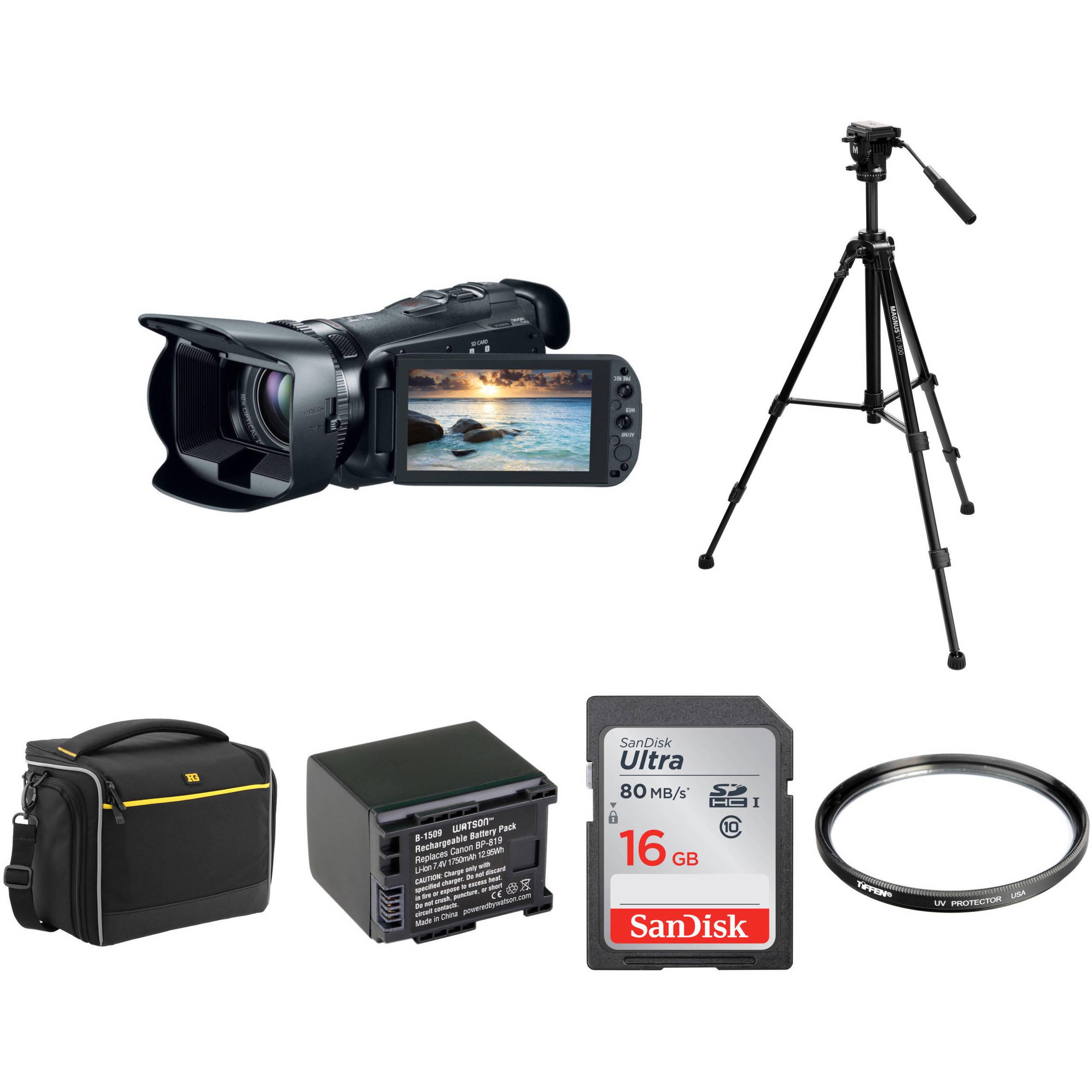 Canon 32GB VIXIA HF G20 Full HD Camcorder Basic Kit