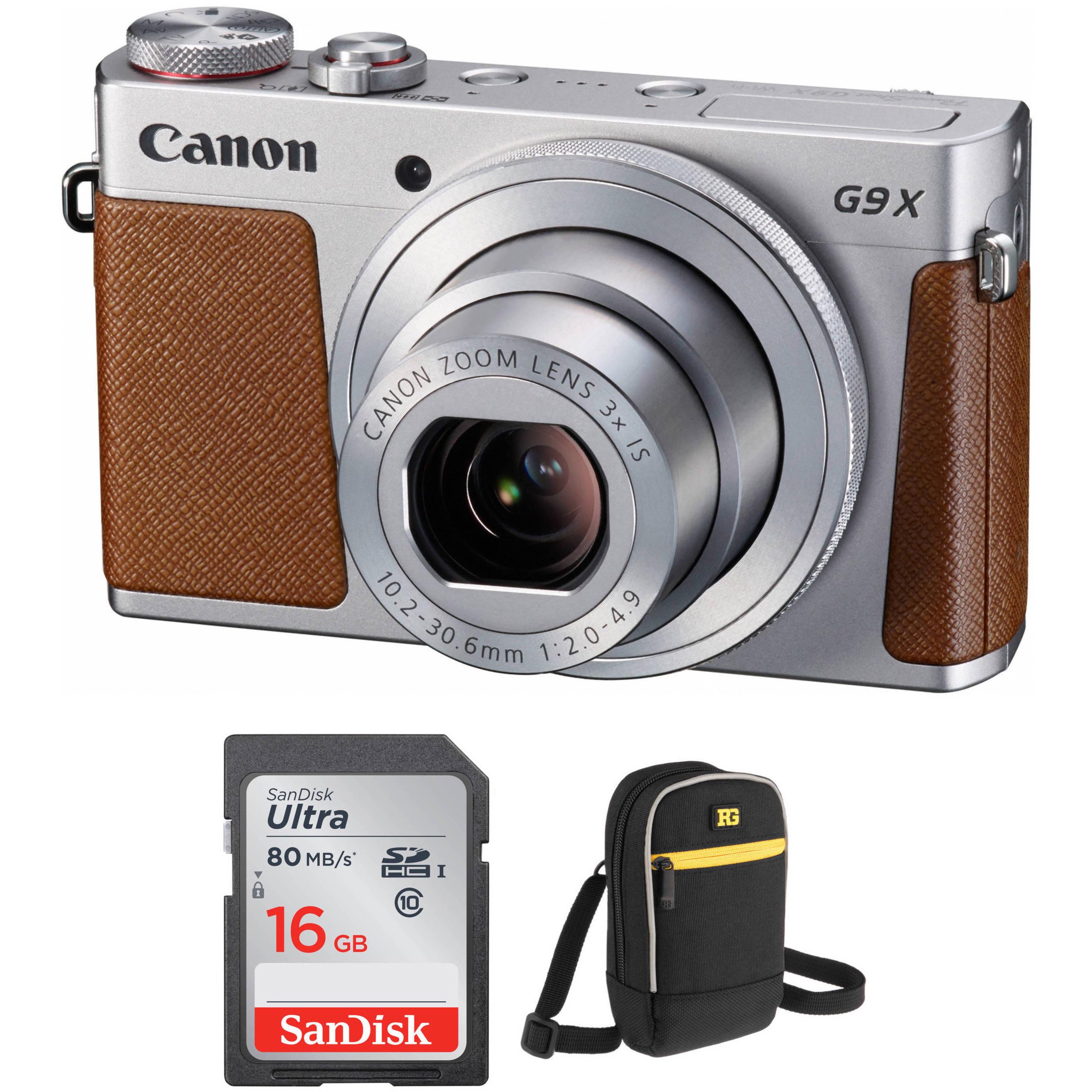 canon powershot g9 x digital camera accessory kit silver b h rh bhphotovideo com canon powershot g9 x user manual canon powershot g9 user manual