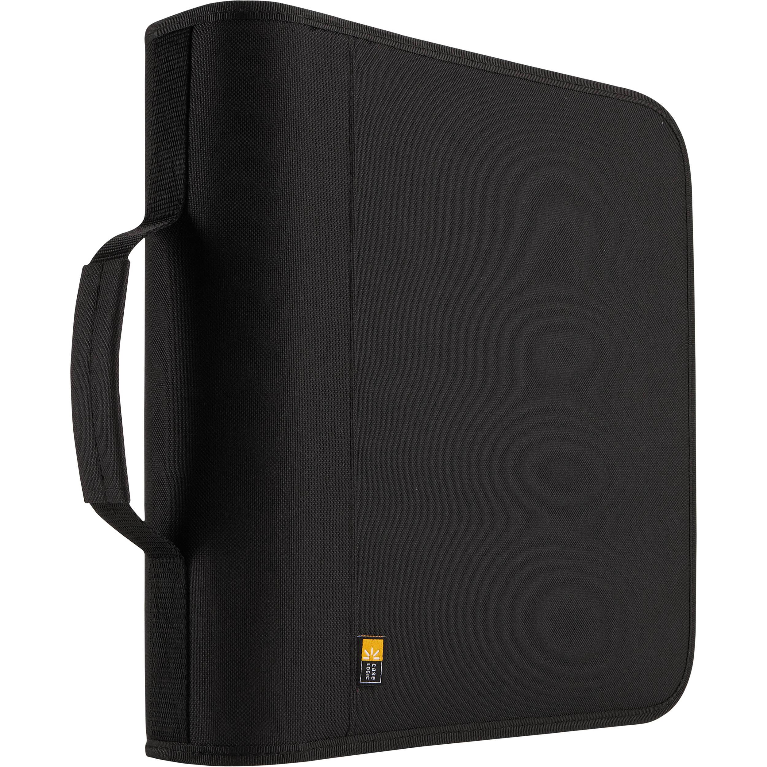 Merveilleux Case Logic 208 Disc Nylon CD / DVD Binder (Black)