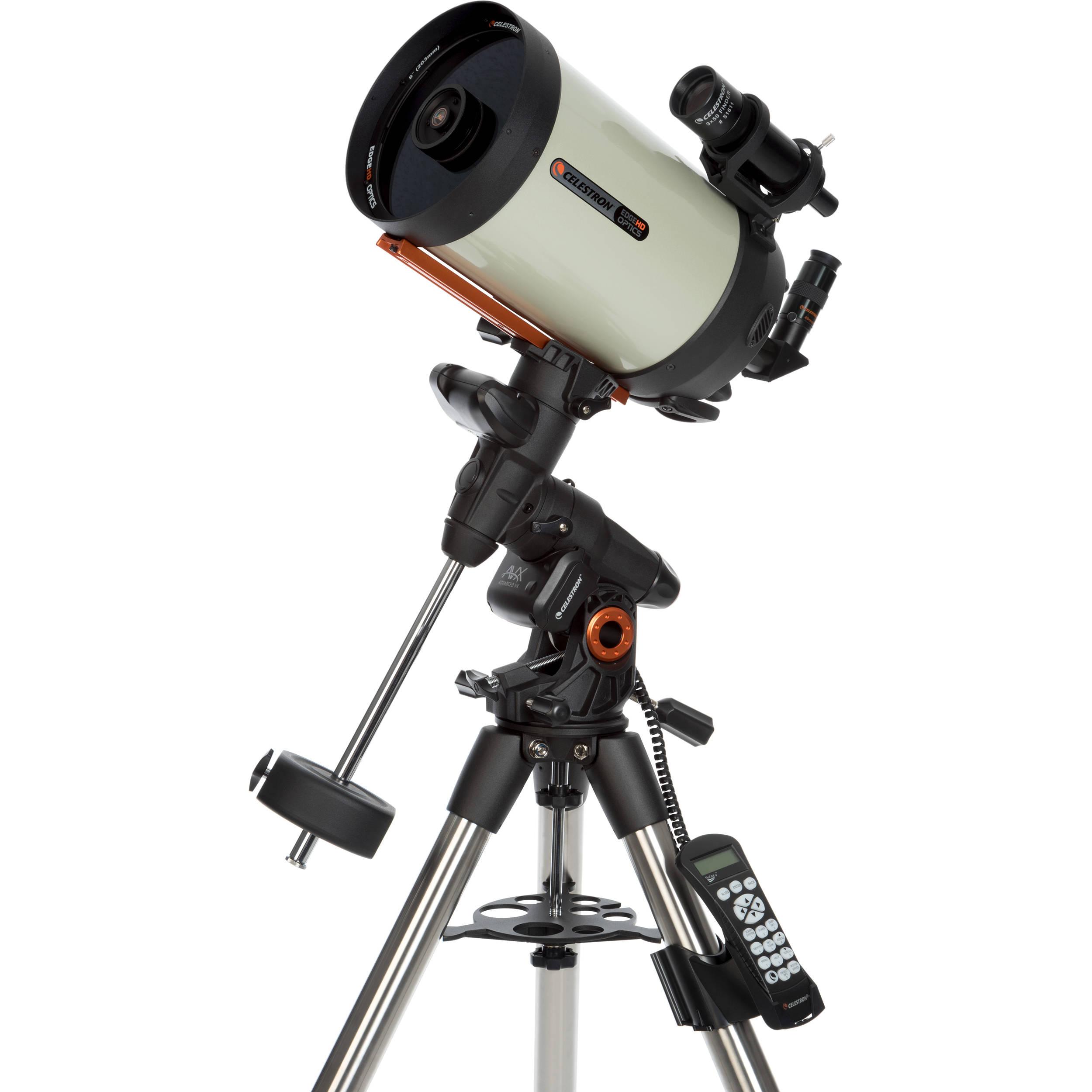 "CelestronAdvanced VX 8"" f/10 EdgeHD Schmidt-Cassegrain GoTo EQ Telescope"
