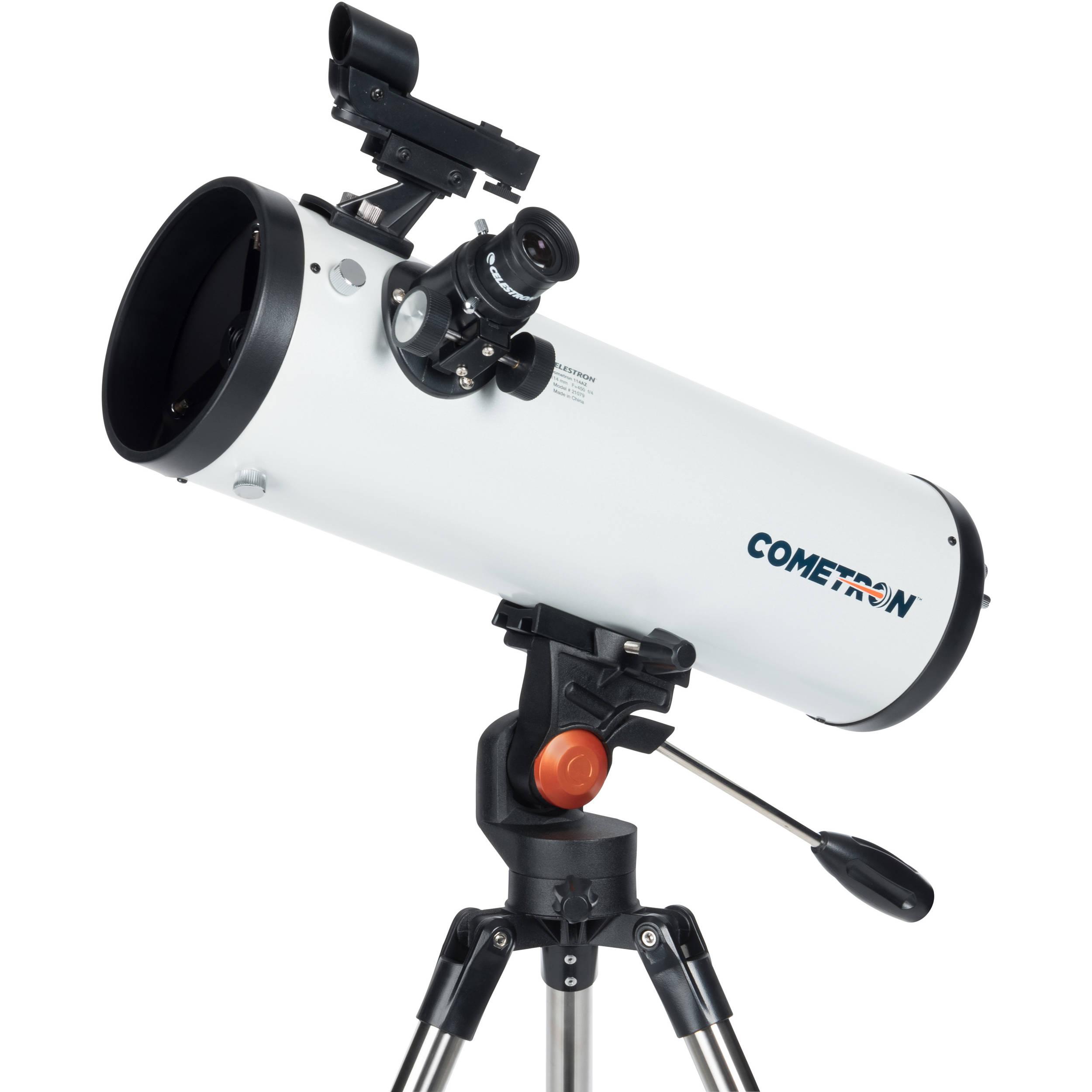 Celestron Cometron 114mm F 4 Reflector Telescope 21079 B Amp H