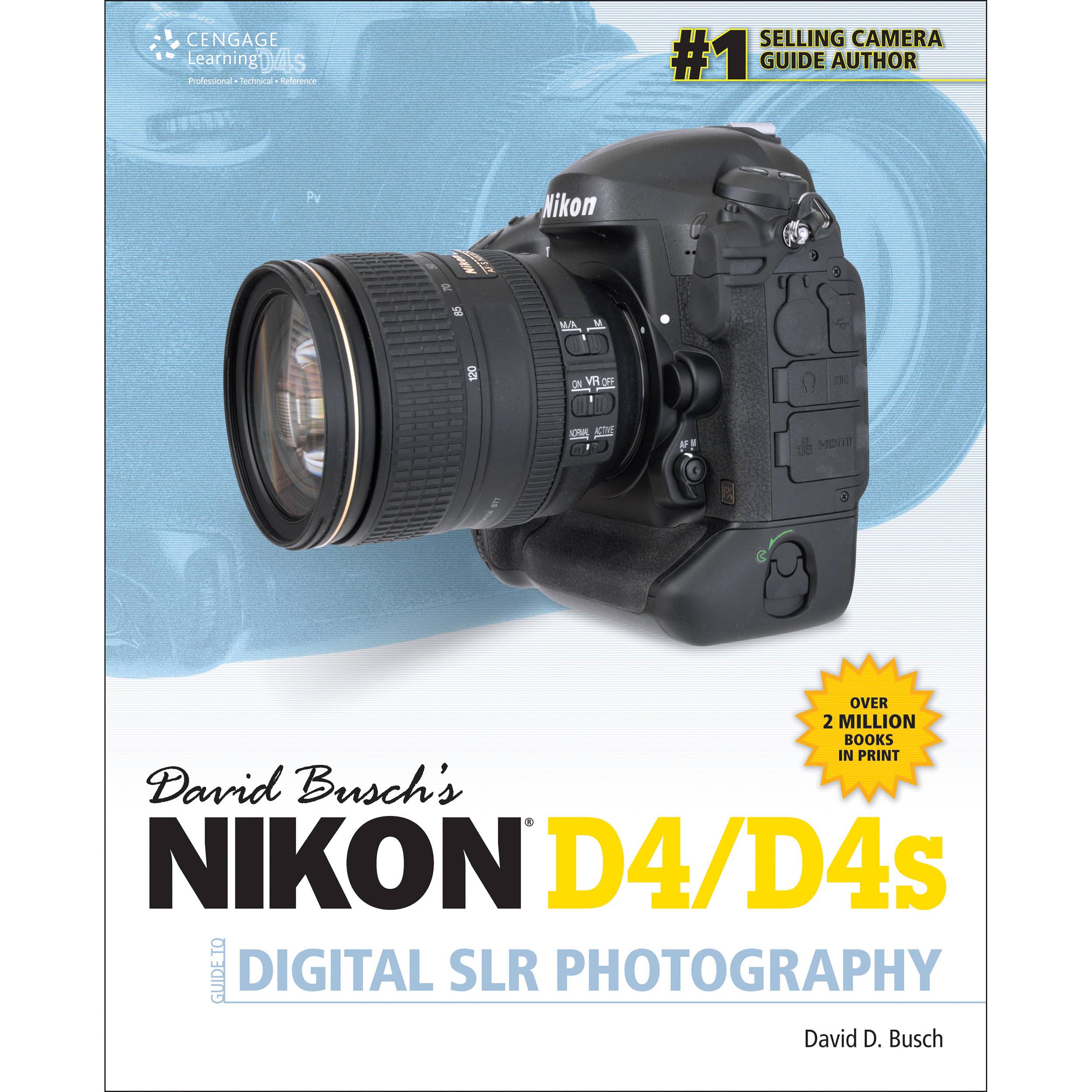 cengage course tech book david busch s nikon s 1285084586 b h rh bhphotovideo com Nikon D3 Nikon F5