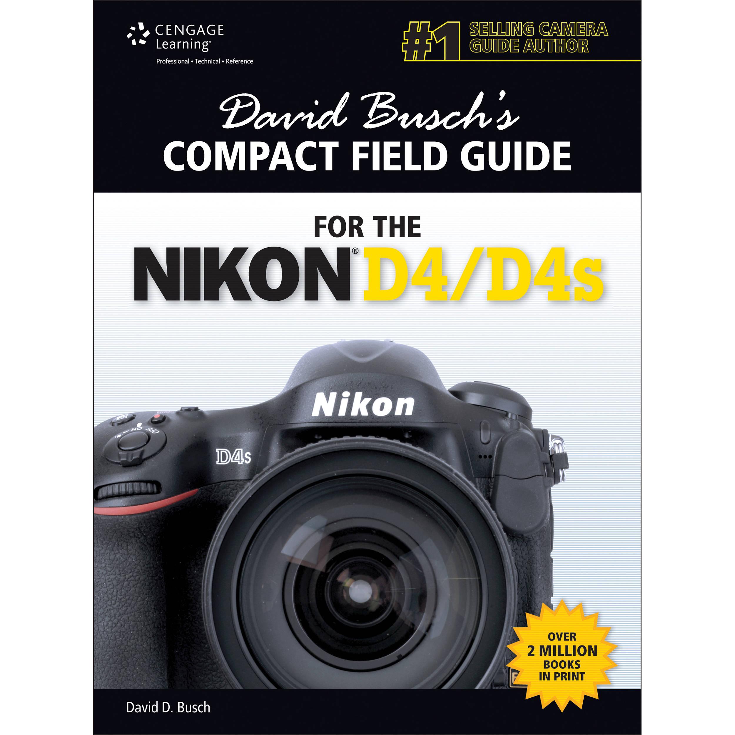 cengage course tech book david busch s compact 9781285424835 rh bhphotovideo com Nikon D5 Nikon D800
