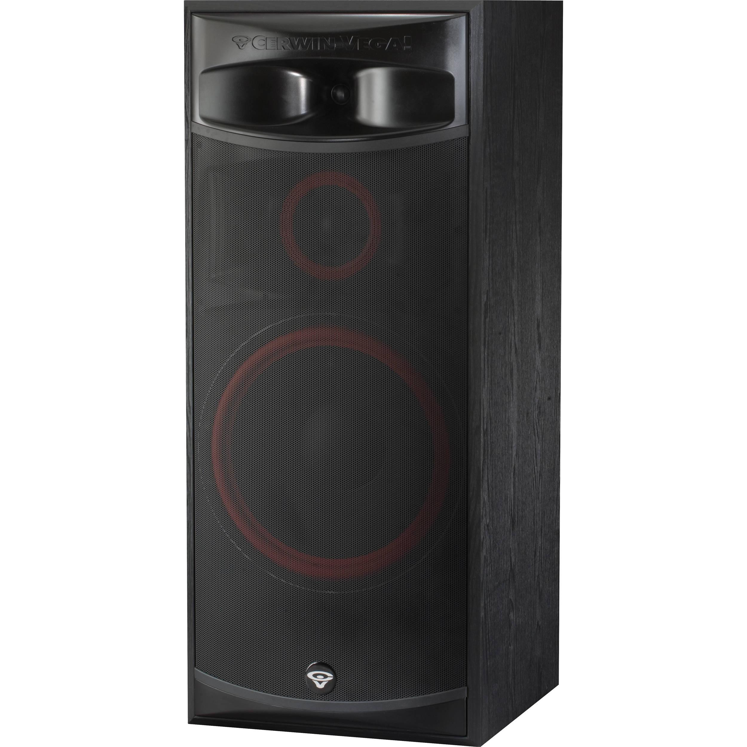 Cerwin vega xls 15 15 3 way floorstanding tower xls 15 b h for 15 floor speakers