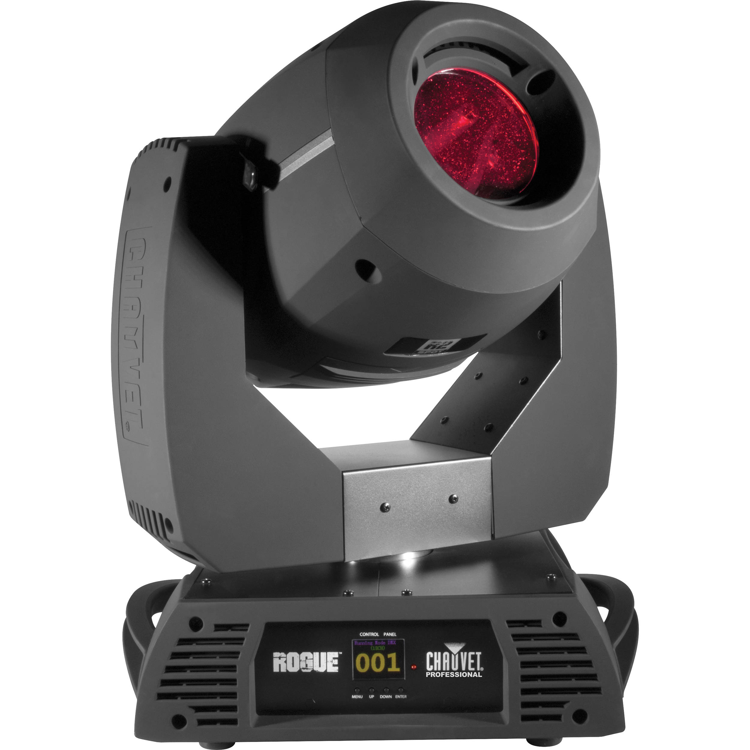 chauvet rogue r2 spot moving head led light fixtures with road case 2 pack. Black Bedroom Furniture Sets. Home Design Ideas