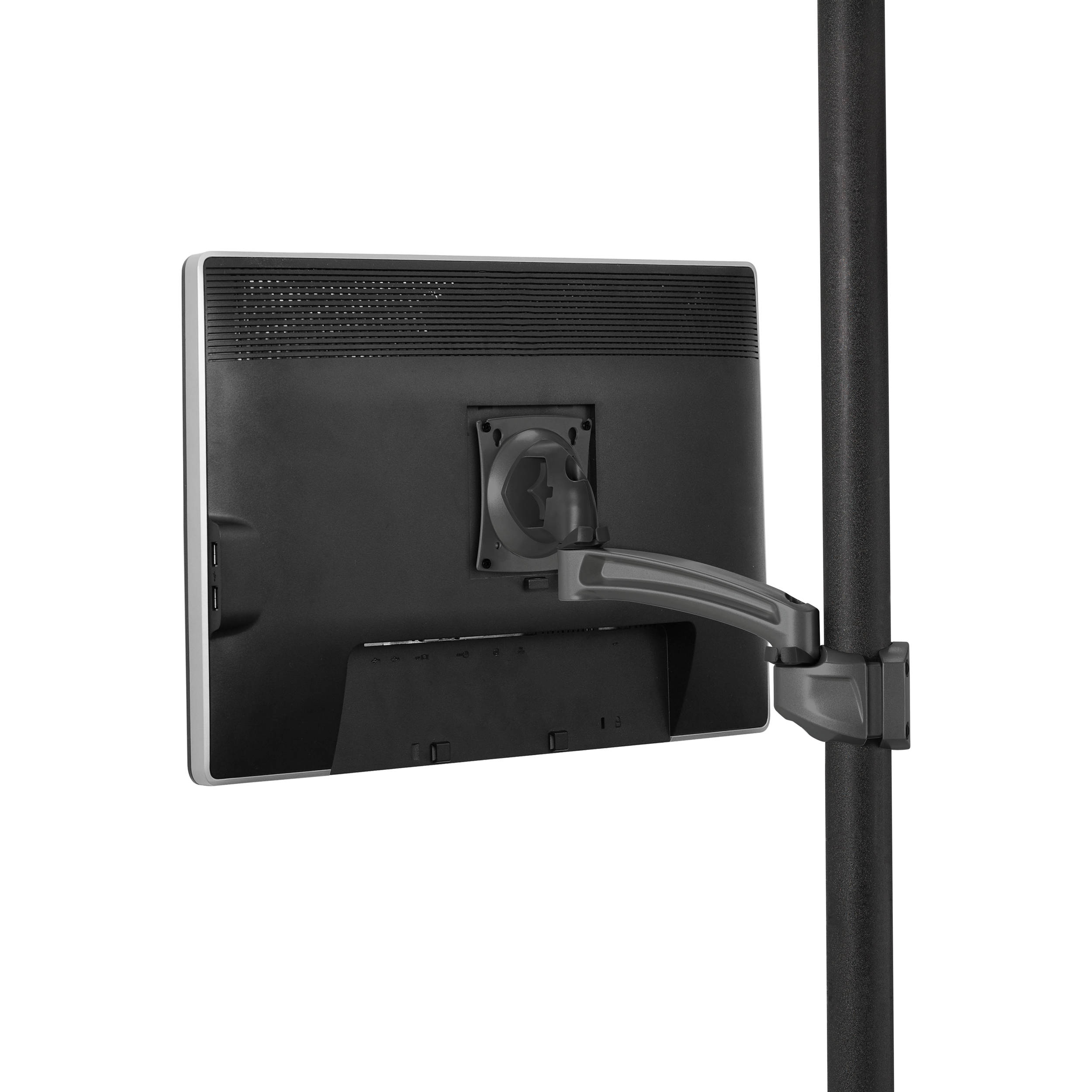 chief k2p110b kontour articulating pole mount for single. Black Bedroom Furniture Sets. Home Design Ideas