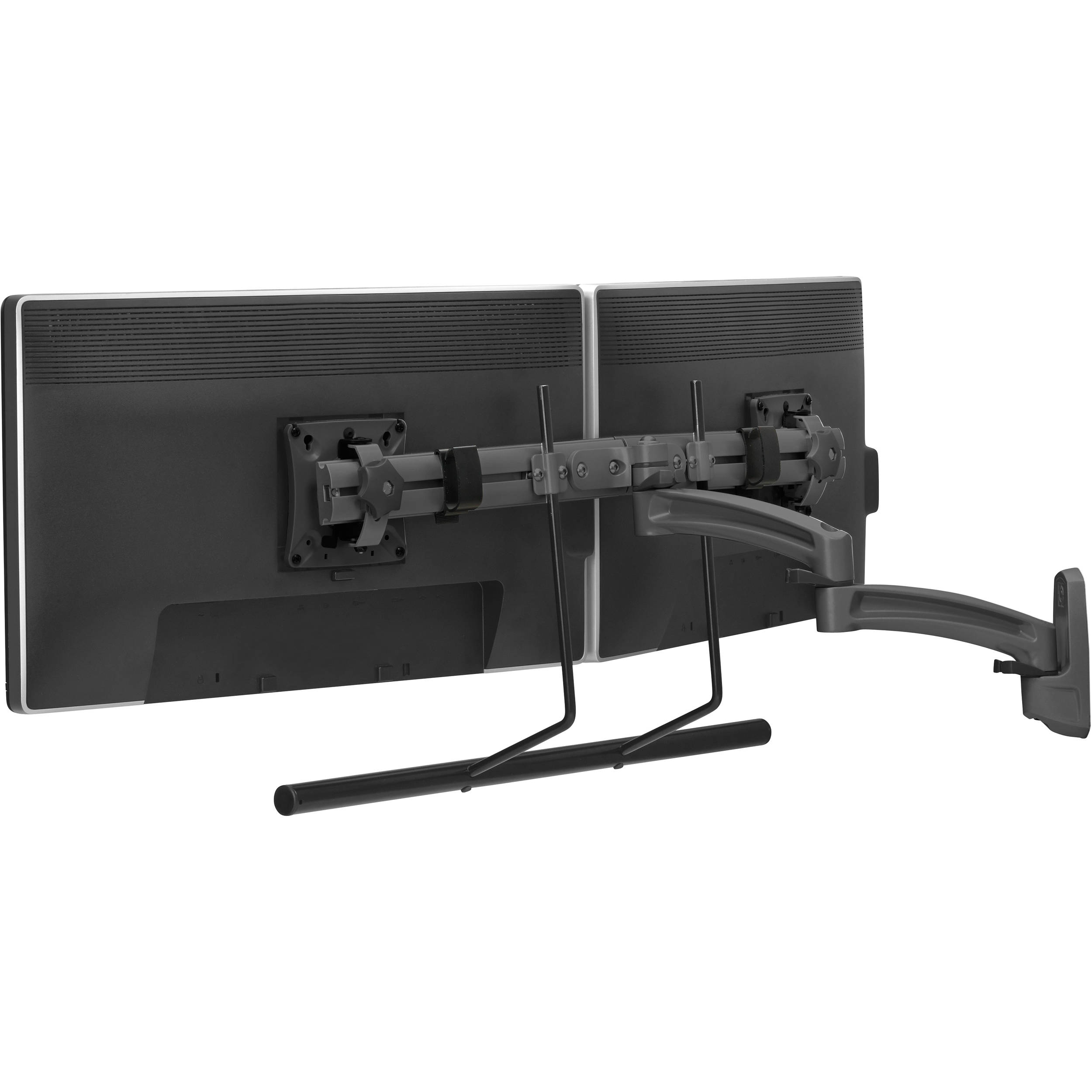 Dual Wall Dual Monitor Wall Mount