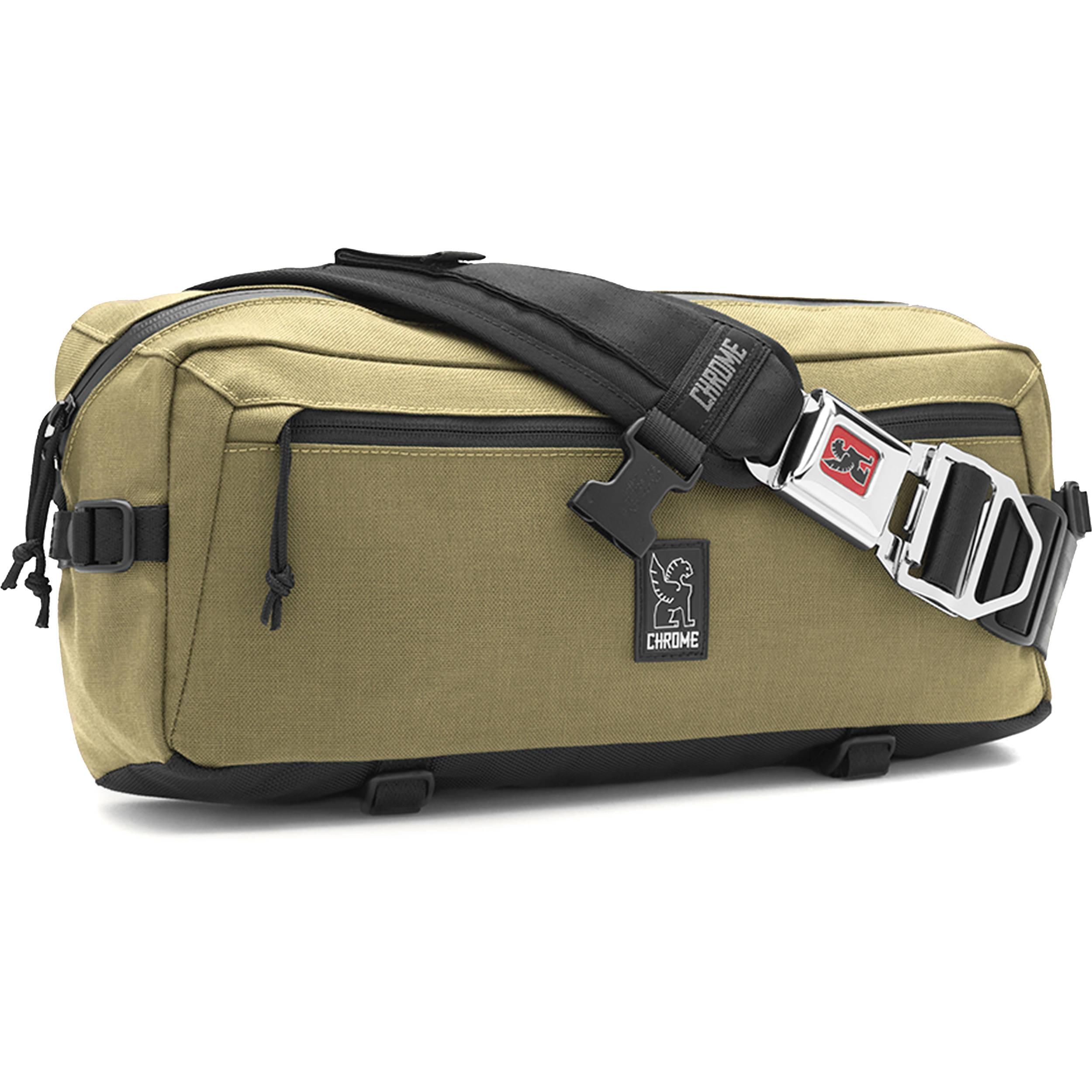 Chrome Industries Kadet Nylon Messenger Bag Bronze Age Black