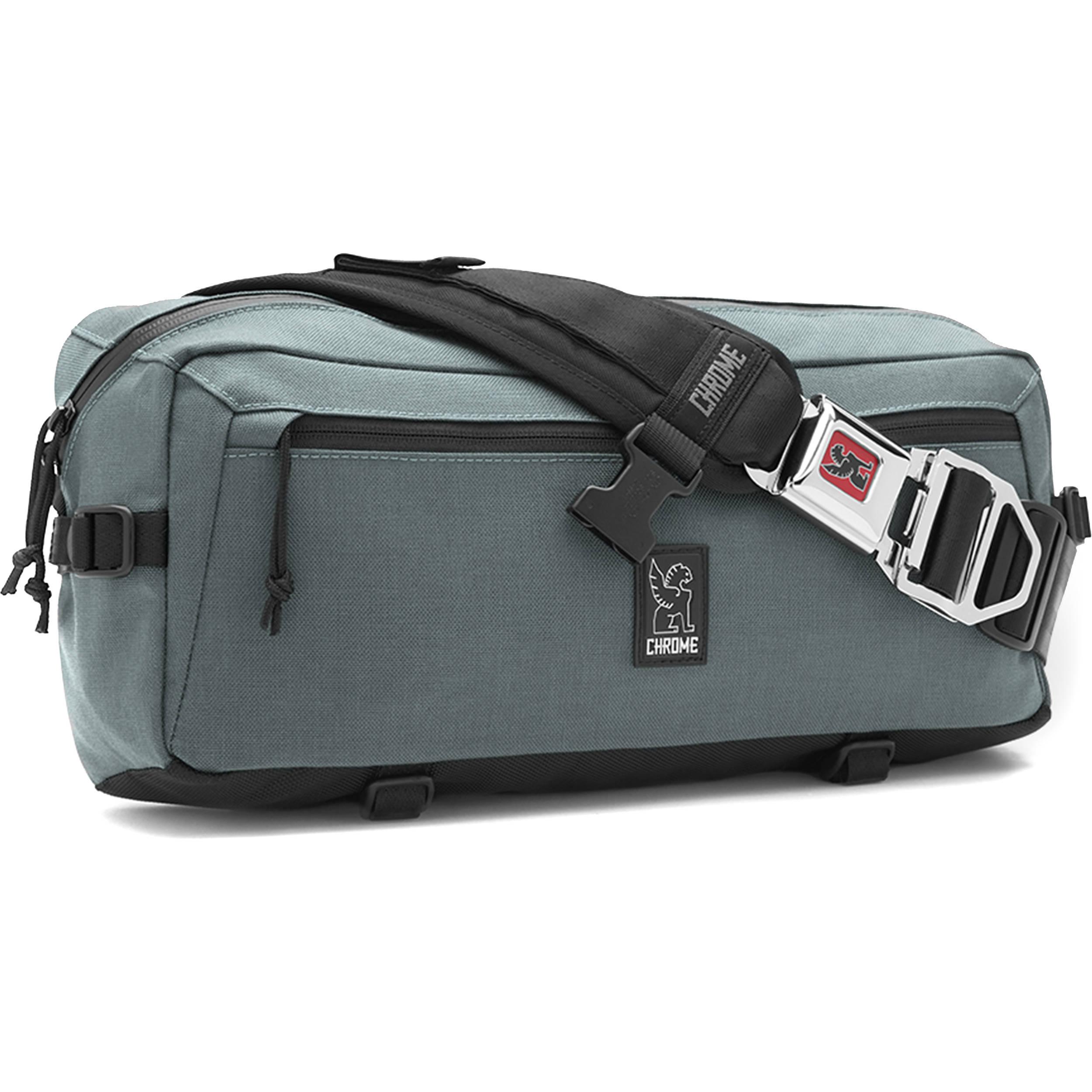 Chrome Industries Kadet Nylon Messenger Bag Mirkwood Black