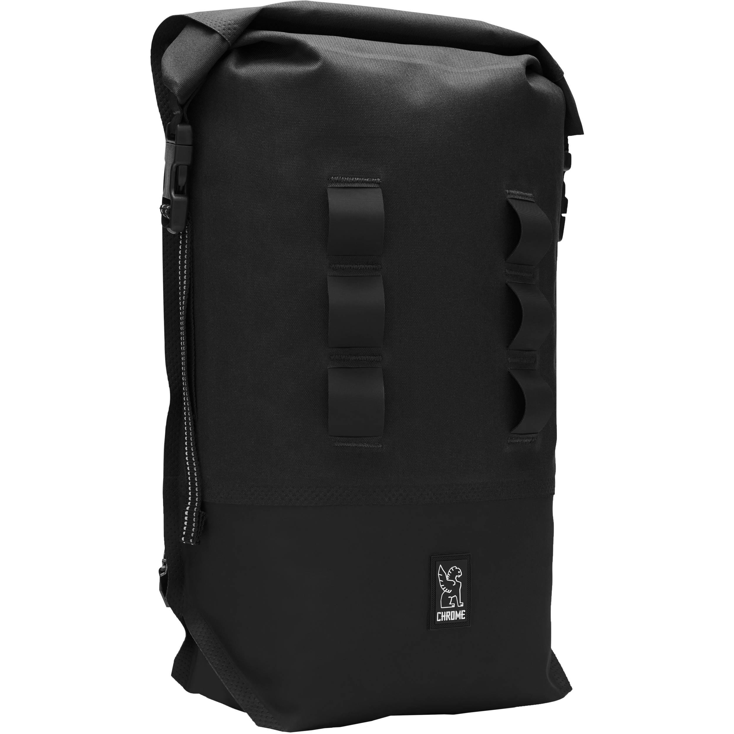 0ffe942879 Chrome Industries Urban Ex Rolltop 18L Backpack BG-217-BKBK-NA