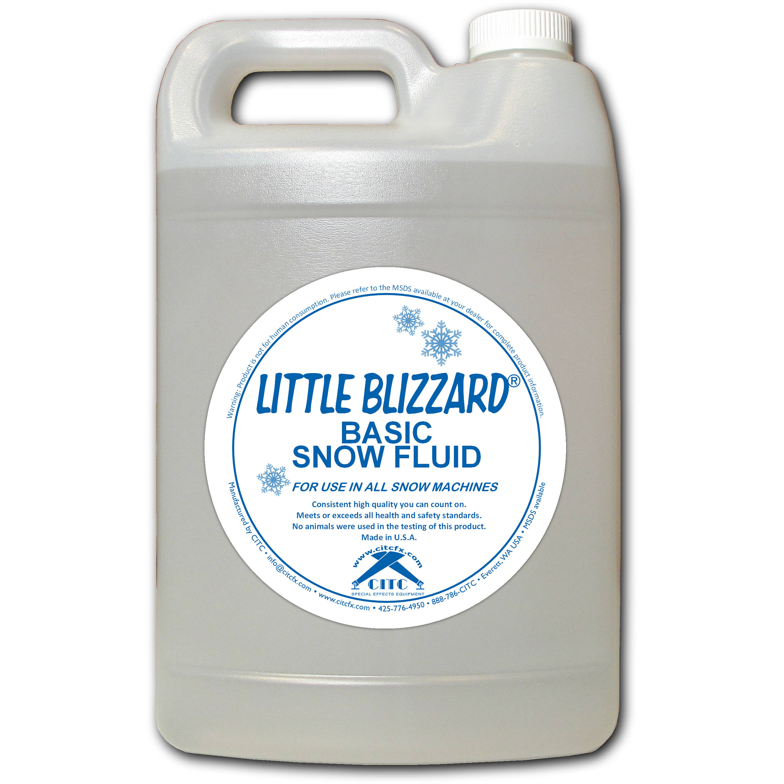 citc blizzard snow machine