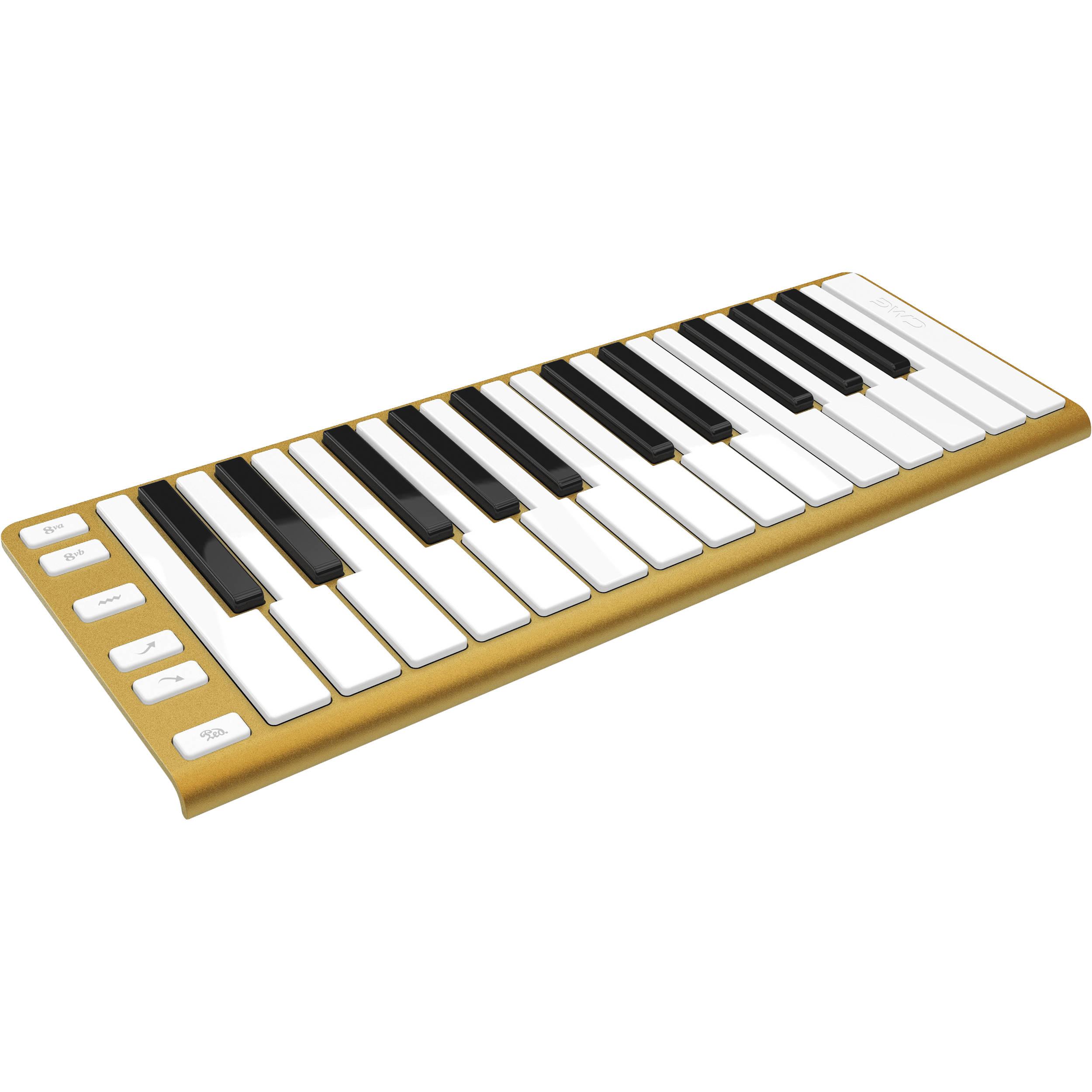 64175f24793 CME Xkey - Mobile MIDI Keyboard (Glorious Gold)