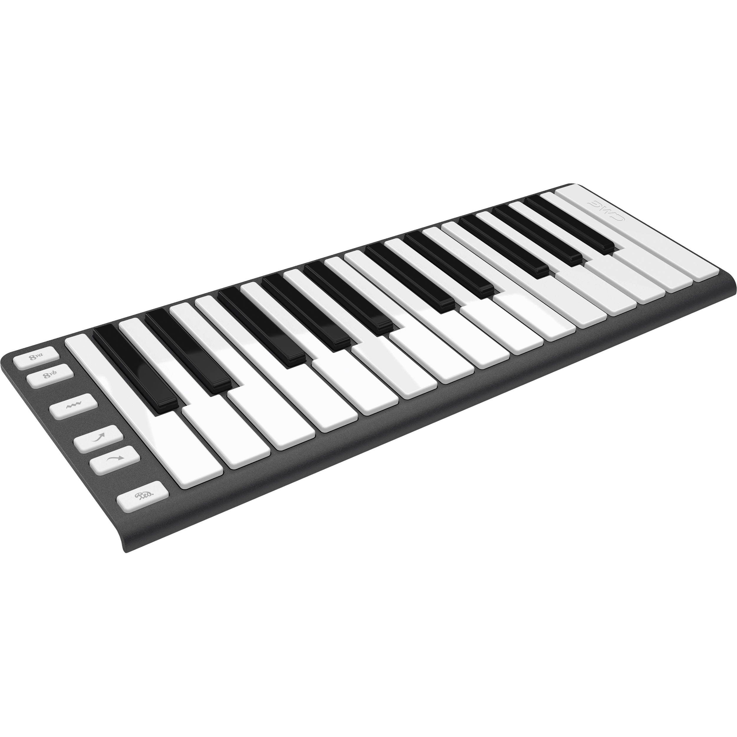 cme xkey mobile midi keyboard xkey gun metal gray b h photo. Black Bedroom Furniture Sets. Home Design Ideas