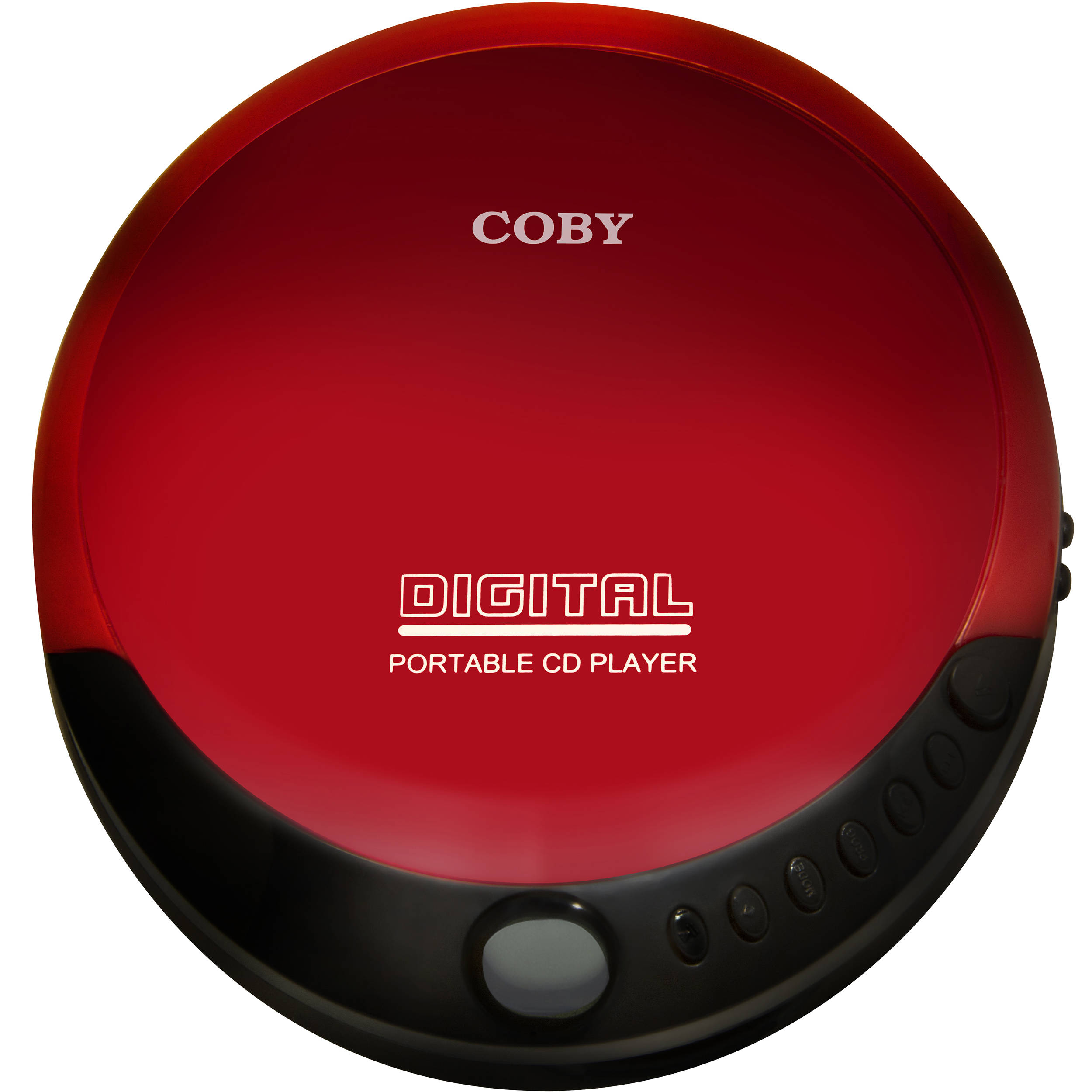 mobile porta cd moderno : Coby Portable Compact CD Player (Red) CD-190-RED B&H Photo Video