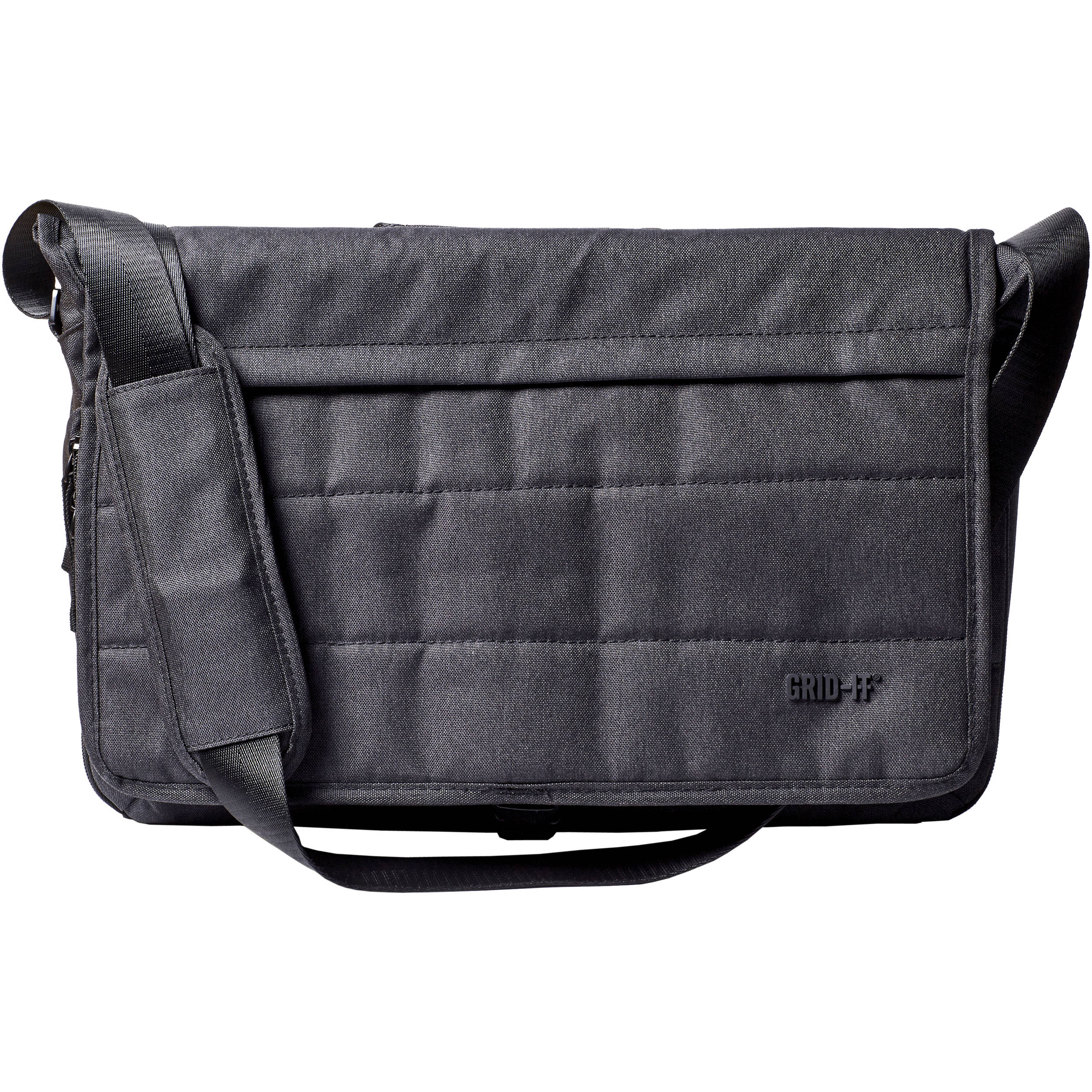 Tech Messenger Bag For Laptop Up To 16 Charcoal