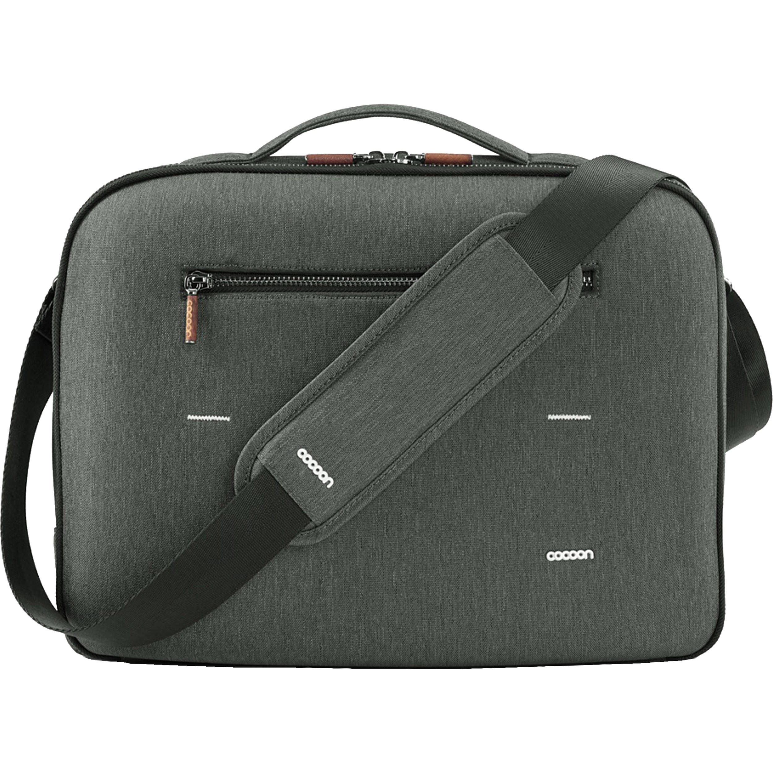 Co Graphite Brief 15 Macbook Pro Laptop Bag With