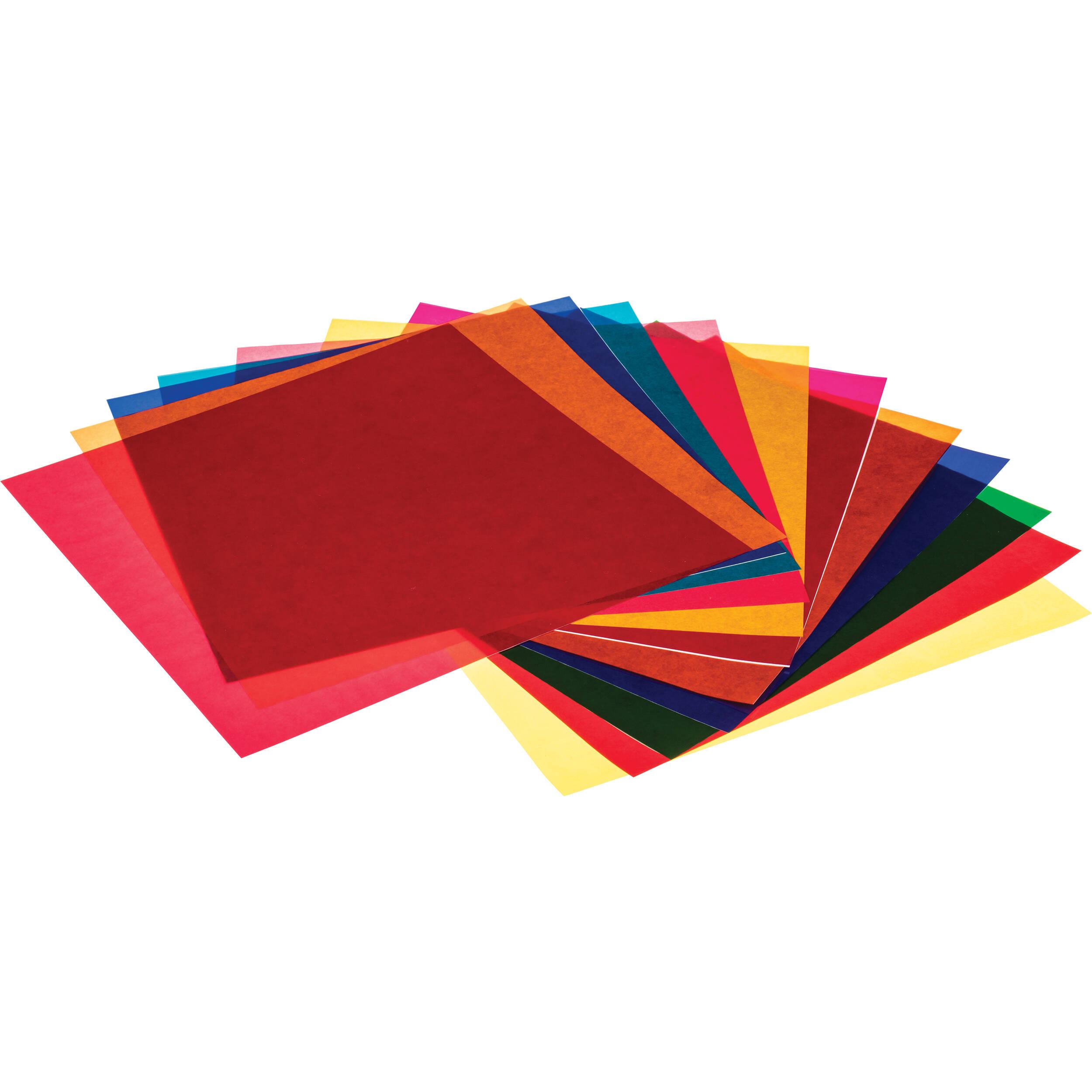 Pro Gel Vivid Colors Filter Pack 12 X 12 Quot Pg12 213 B Amp H