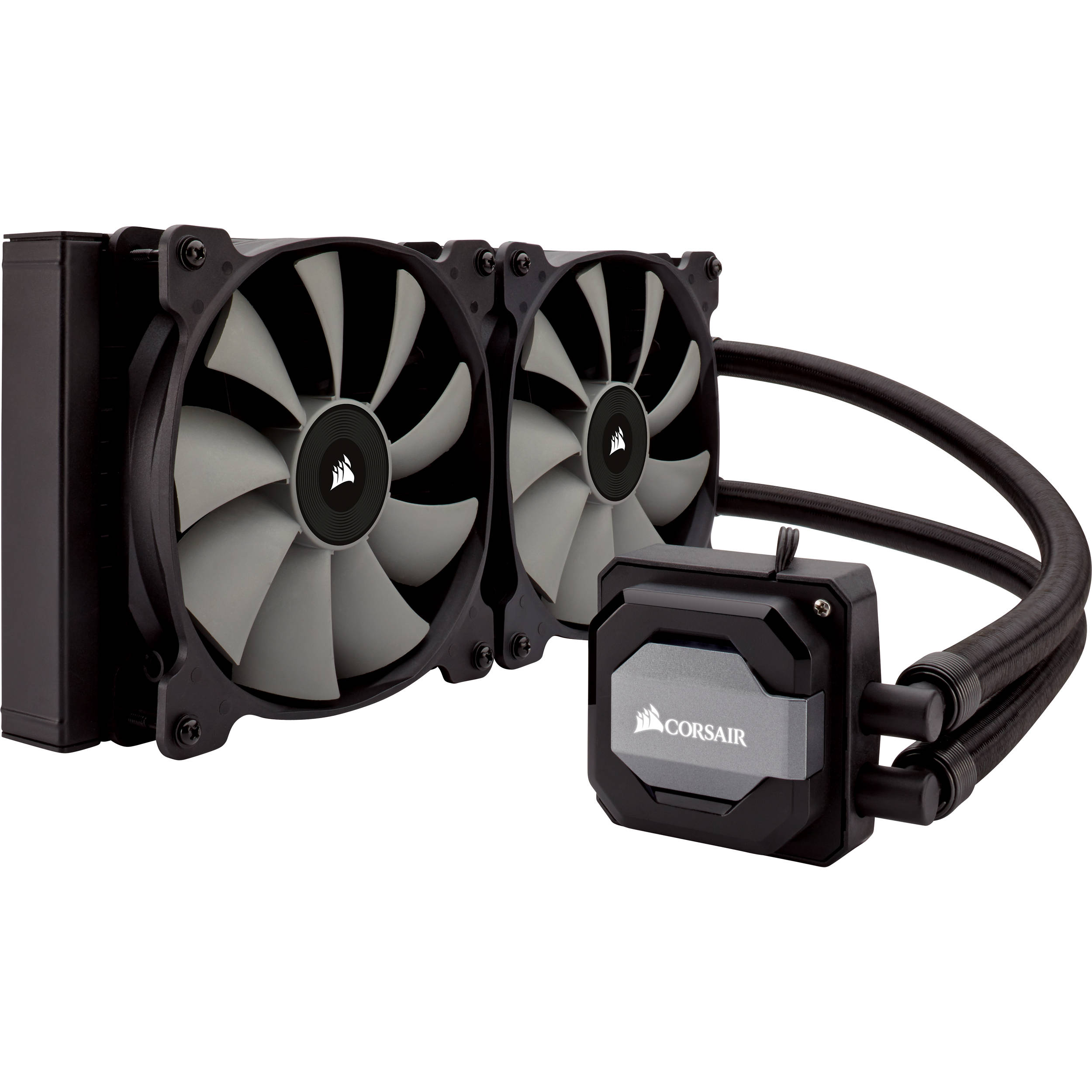 Compare Corsair Hydro Series H100i v2 Liquid CPU Cooler vs