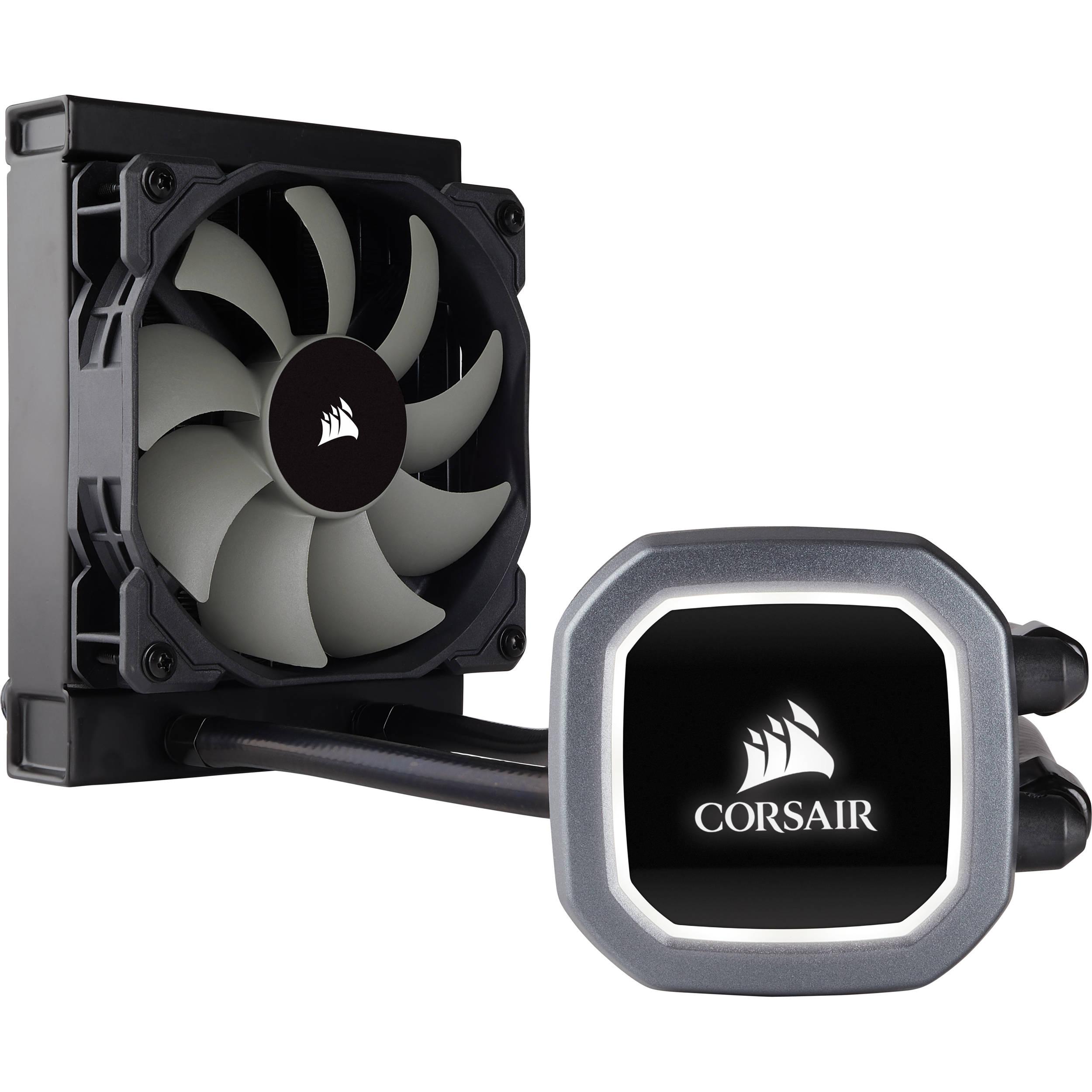 Corsair Hydro Series H60 Liquid Cpu Cooler Cw 9060036 Ww B Amp H