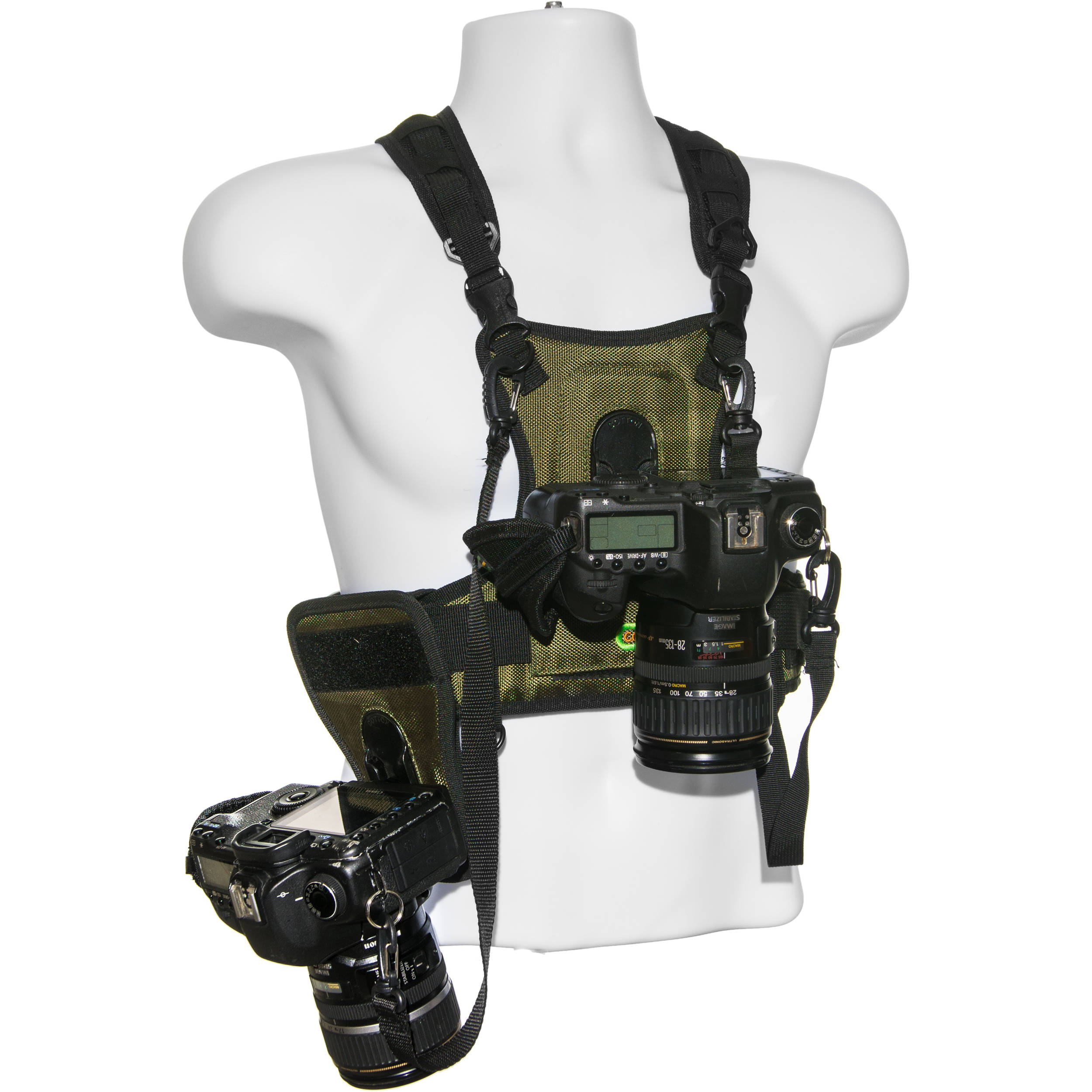 Cotton Carrier Camera Vest With Side Holster 124 Rtl D