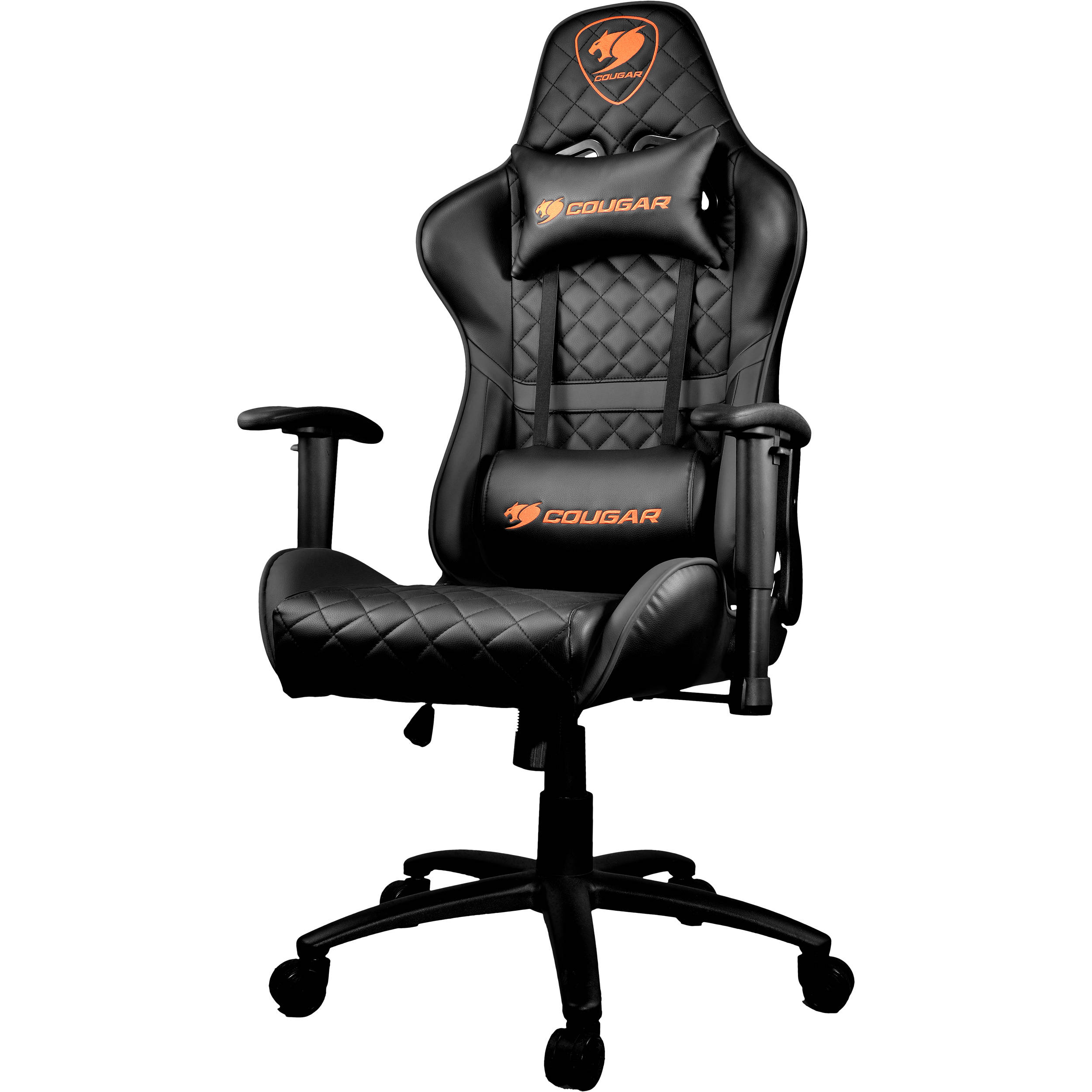 Cougar Armor One Gaming Chair Black Armor One Black B Amp H
