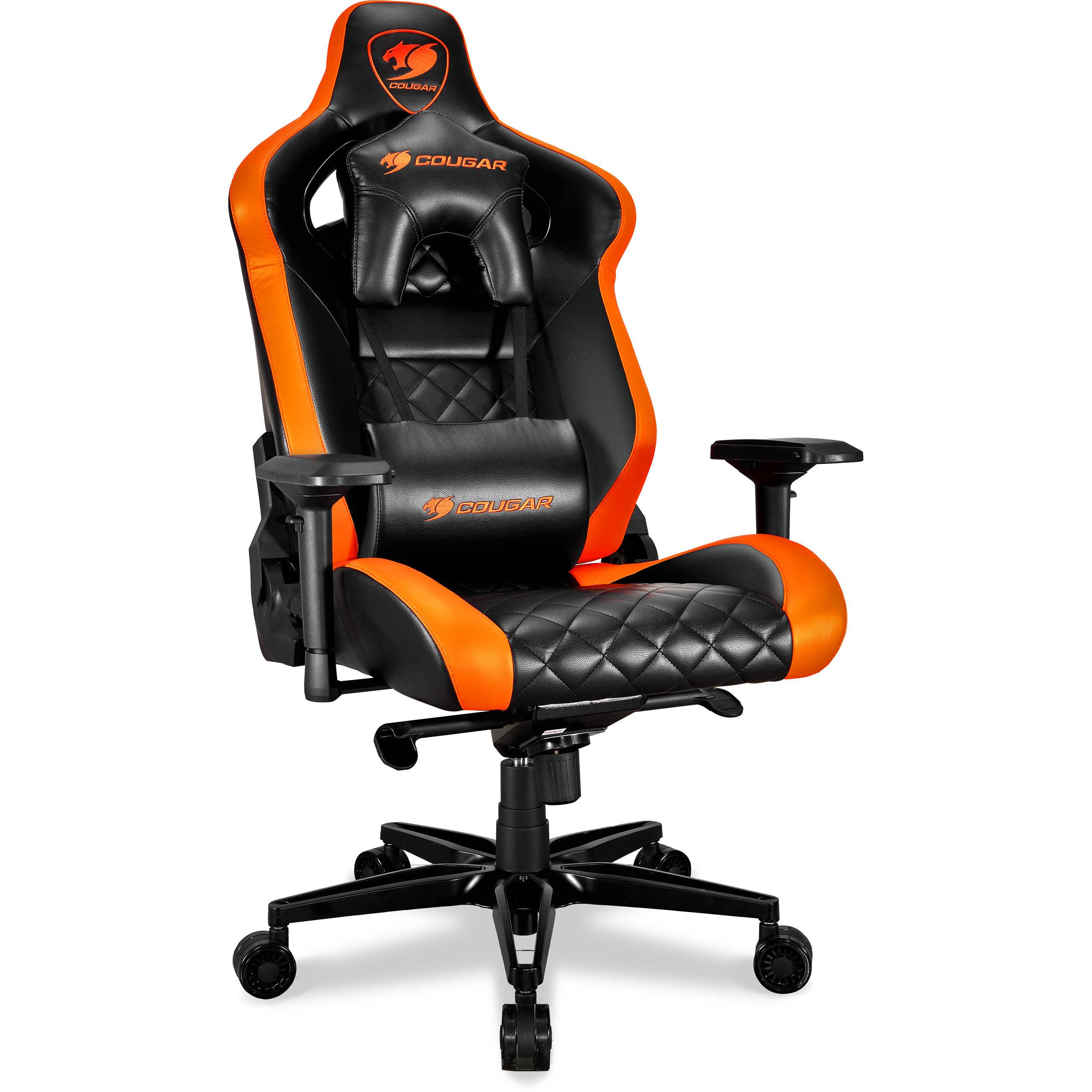 Cougar Armor Titan Gaming Chair Black Orange Armor Titan