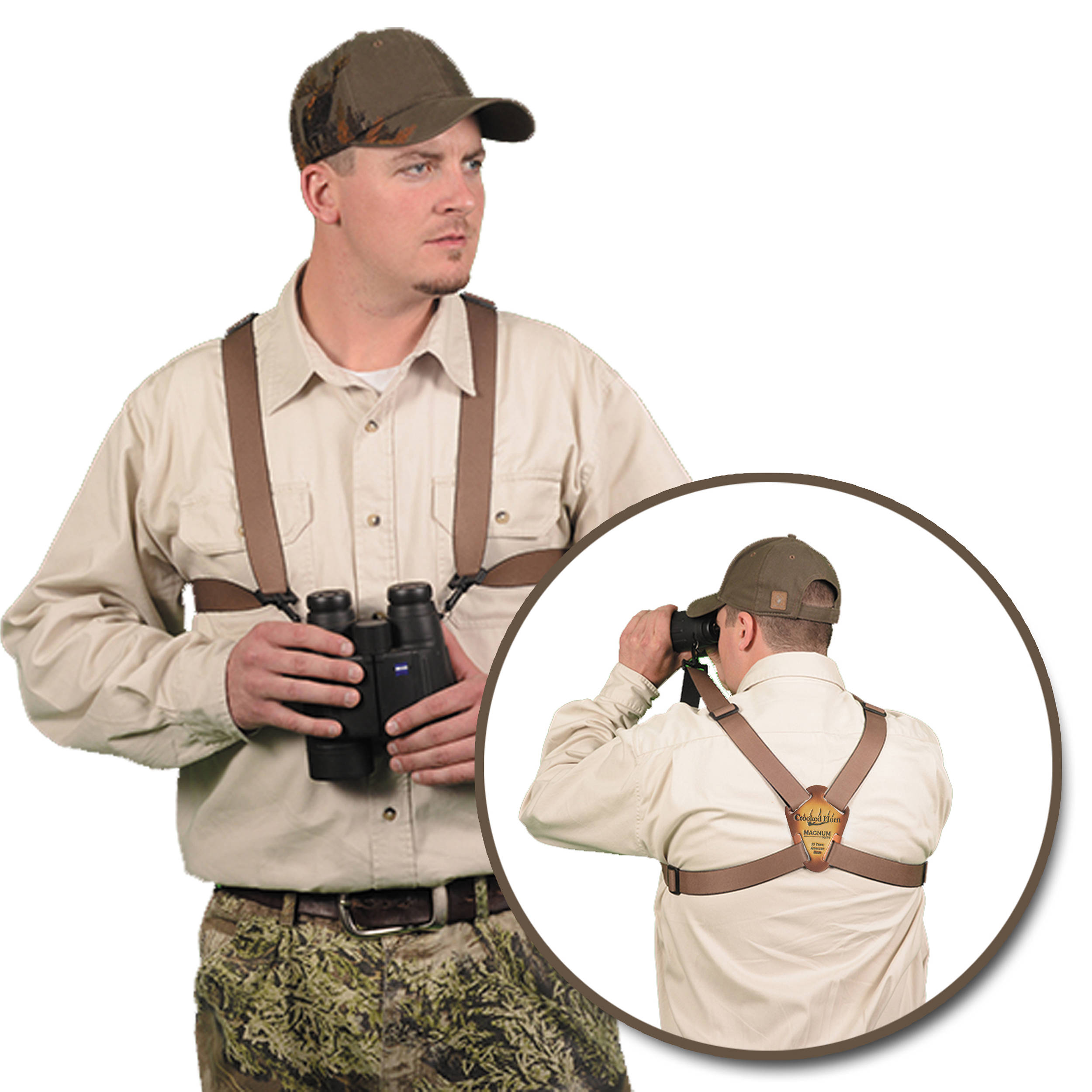 crooked_horn_outfitters_bs_127_magnum_bino_system_binocular_harness_1058611 binocular quick release strap b&h photo video