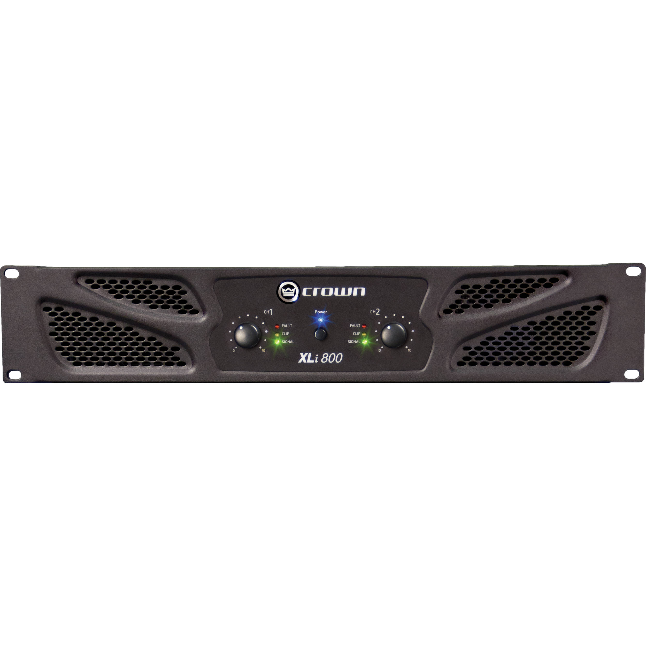 crown audio xli 800 stereo power amplifier xli800 b h photo video. Black Bedroom Furniture Sets. Home Design Ideas