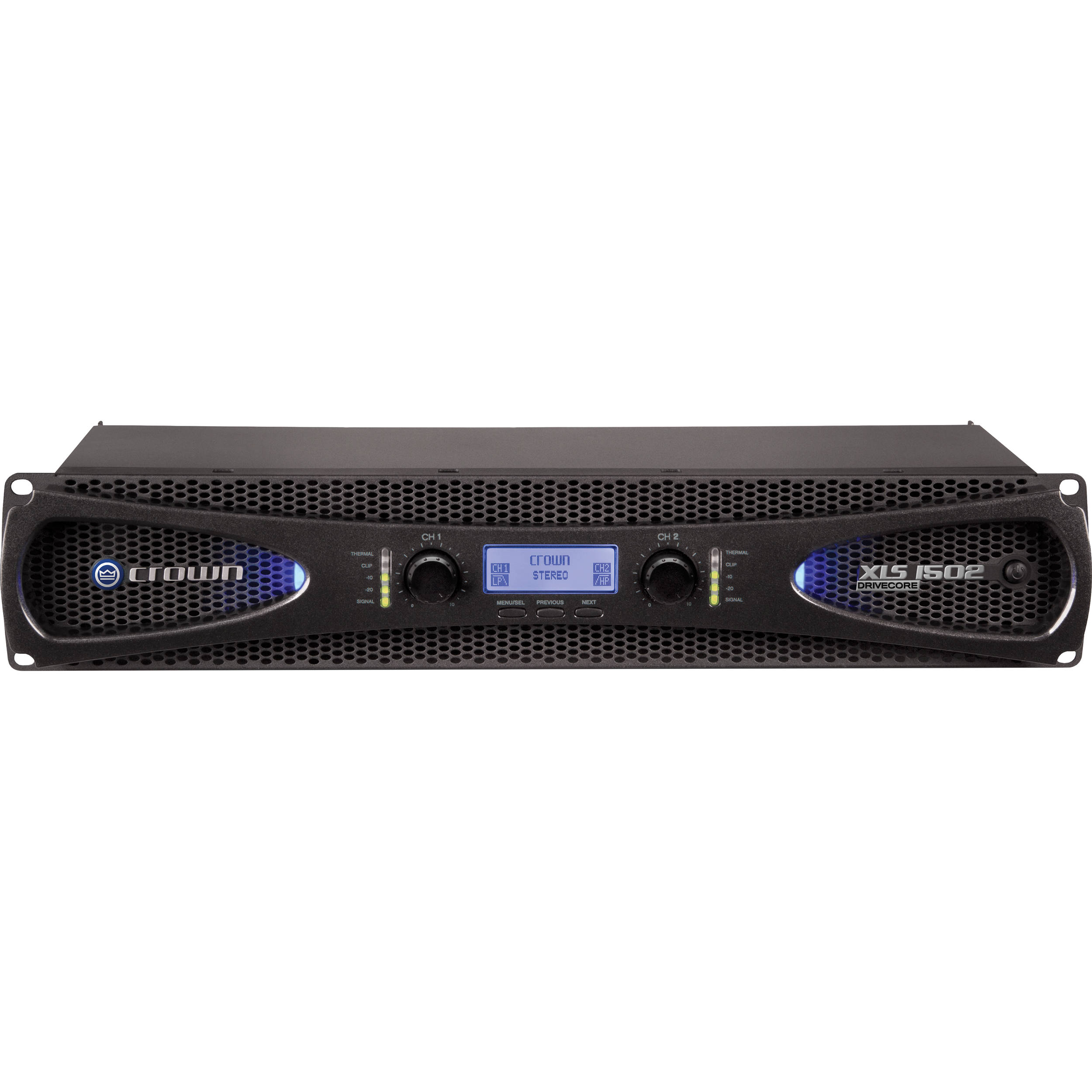 Power Amplifiers Bh Photo Video 2 X 20 Watt Car Amplifier Crown Audio Xls 1502 Stereo 525w At 4 Ohm