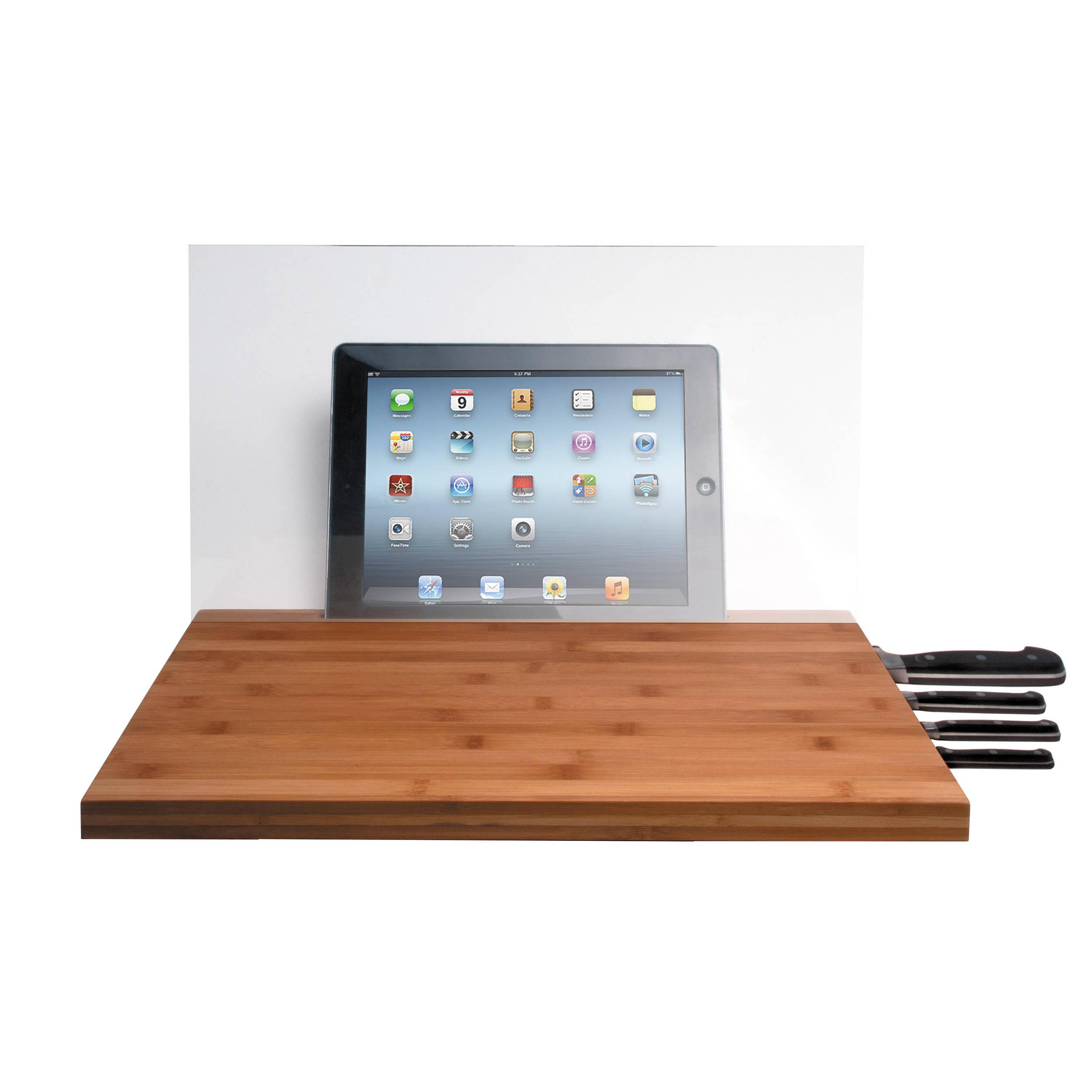 CTA Digital Bamboo Cutting Board For IPad