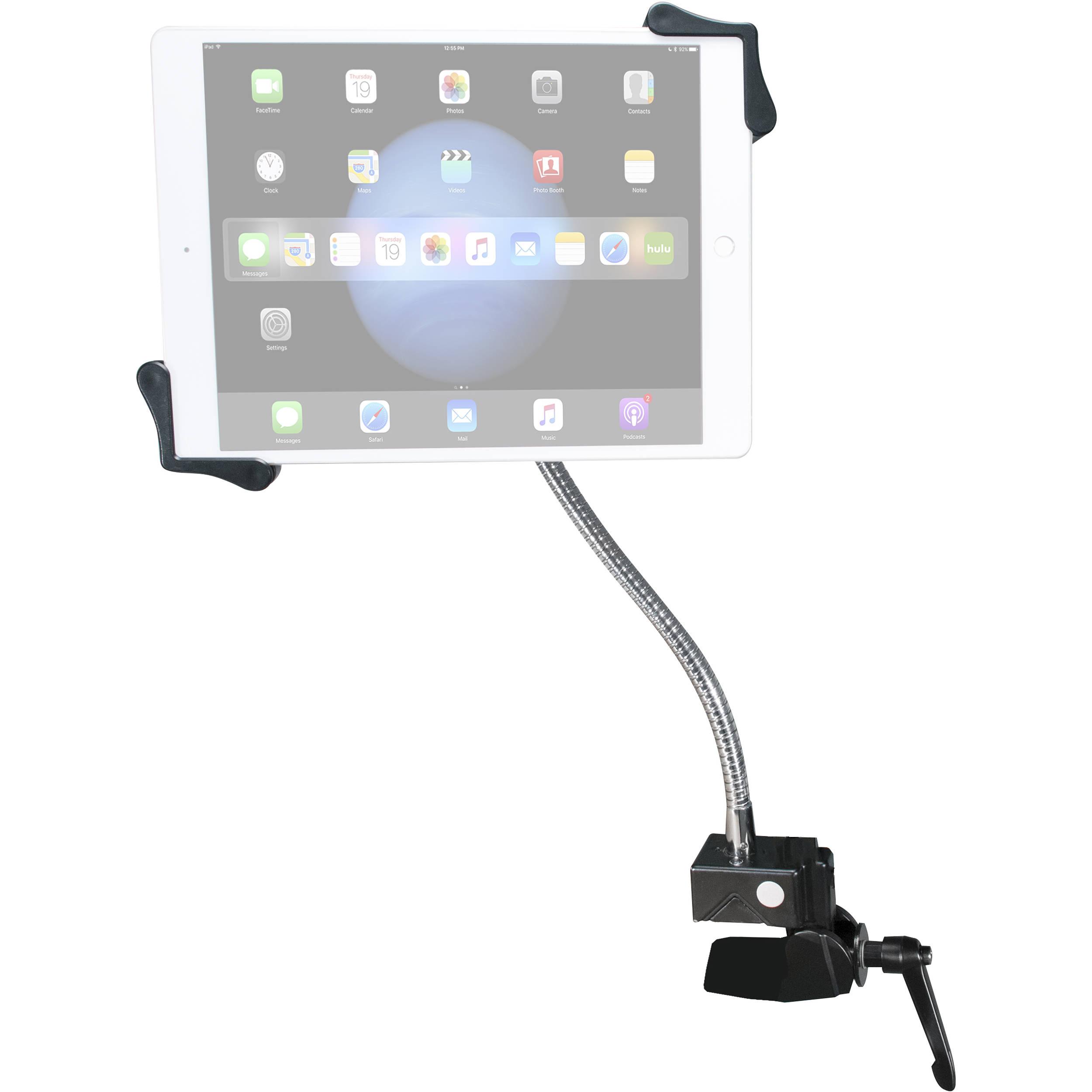 cta digital pad hgt heavy duty gooseneck clamp stand
