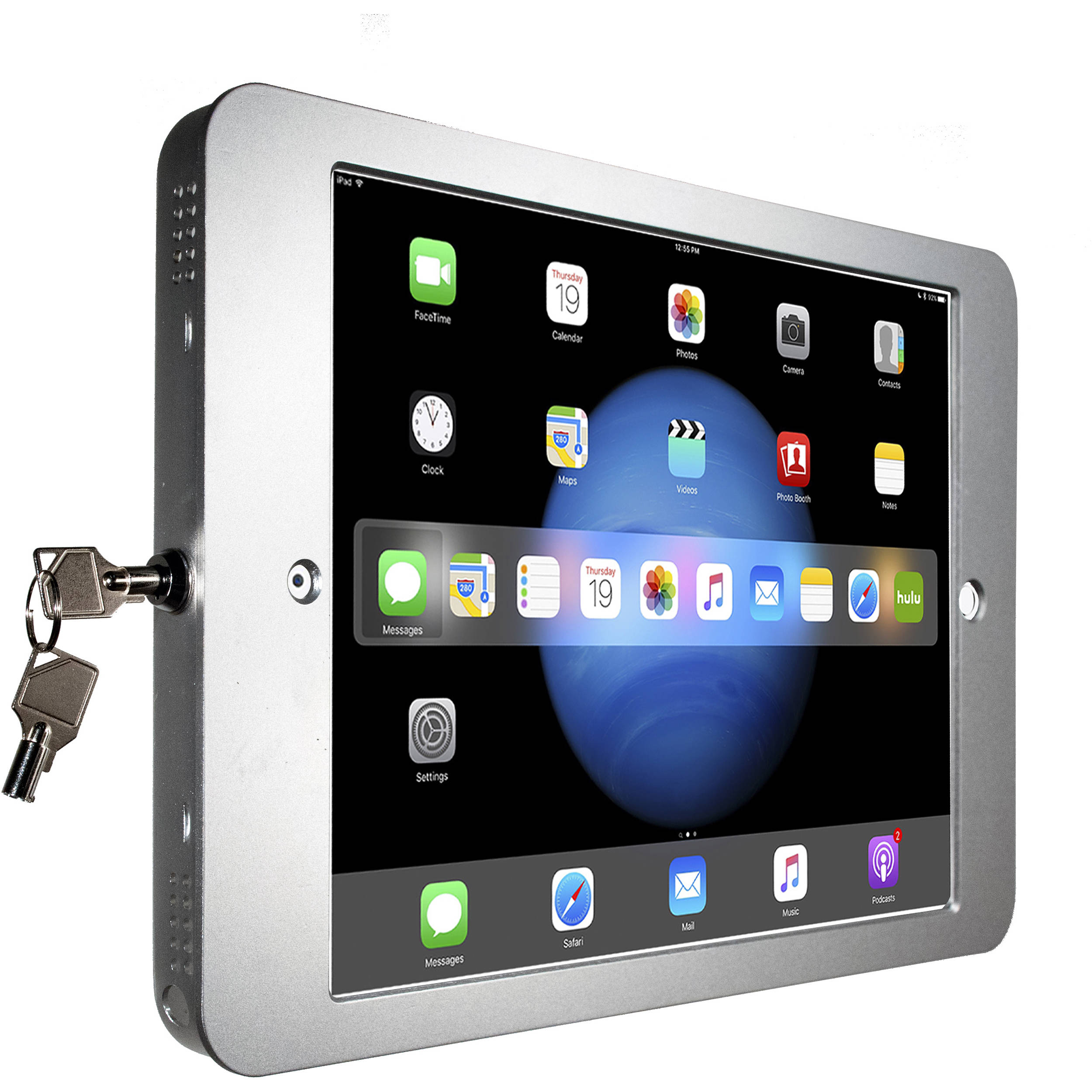 Cta Digital Security Wall Enclosure For Apple Ipad Pro Pad