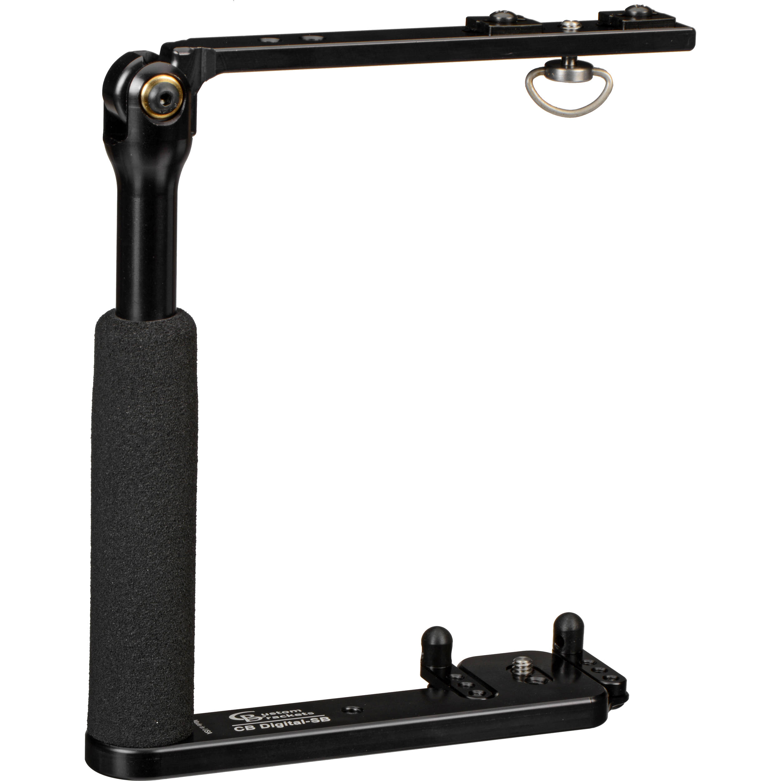 Photography Flash Brackets: Custom Brackets CB Digital-S Rotating Flash Bracket CB