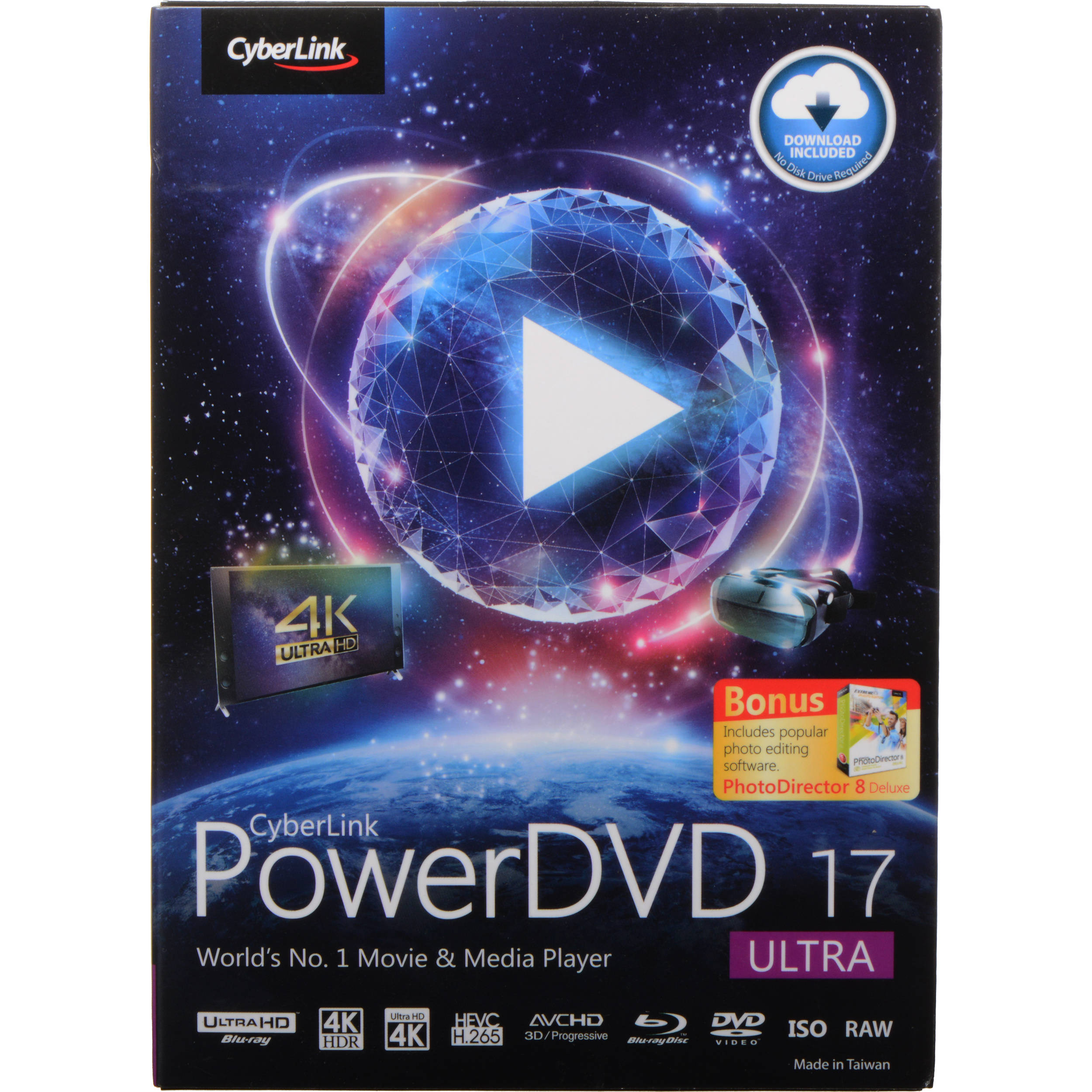 cyberlink powerdvd free download for windows 10