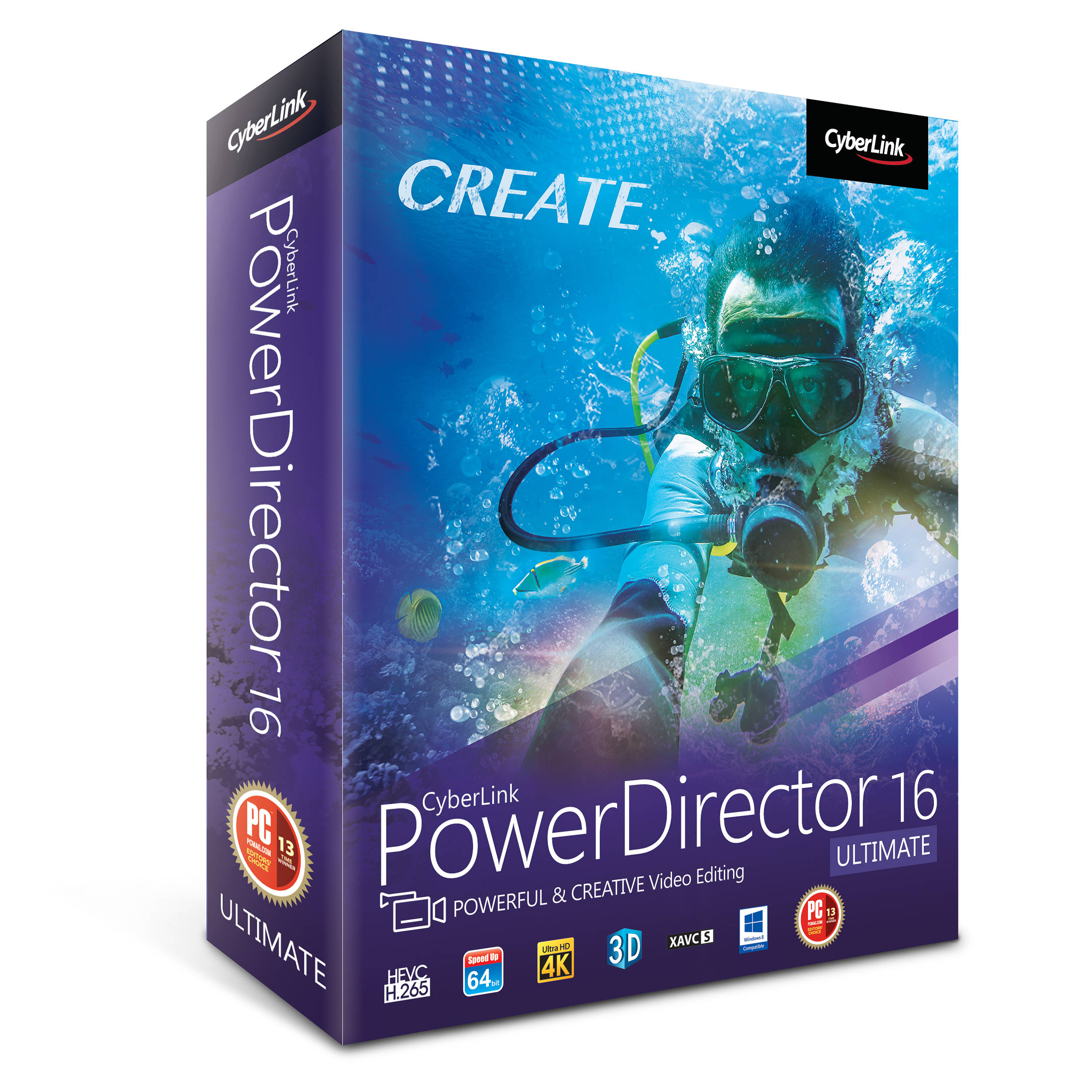 Cyberlink Powerdirector 16 Ultimate Dvd Pdr Eg00 Rpm0 00 B & Amph