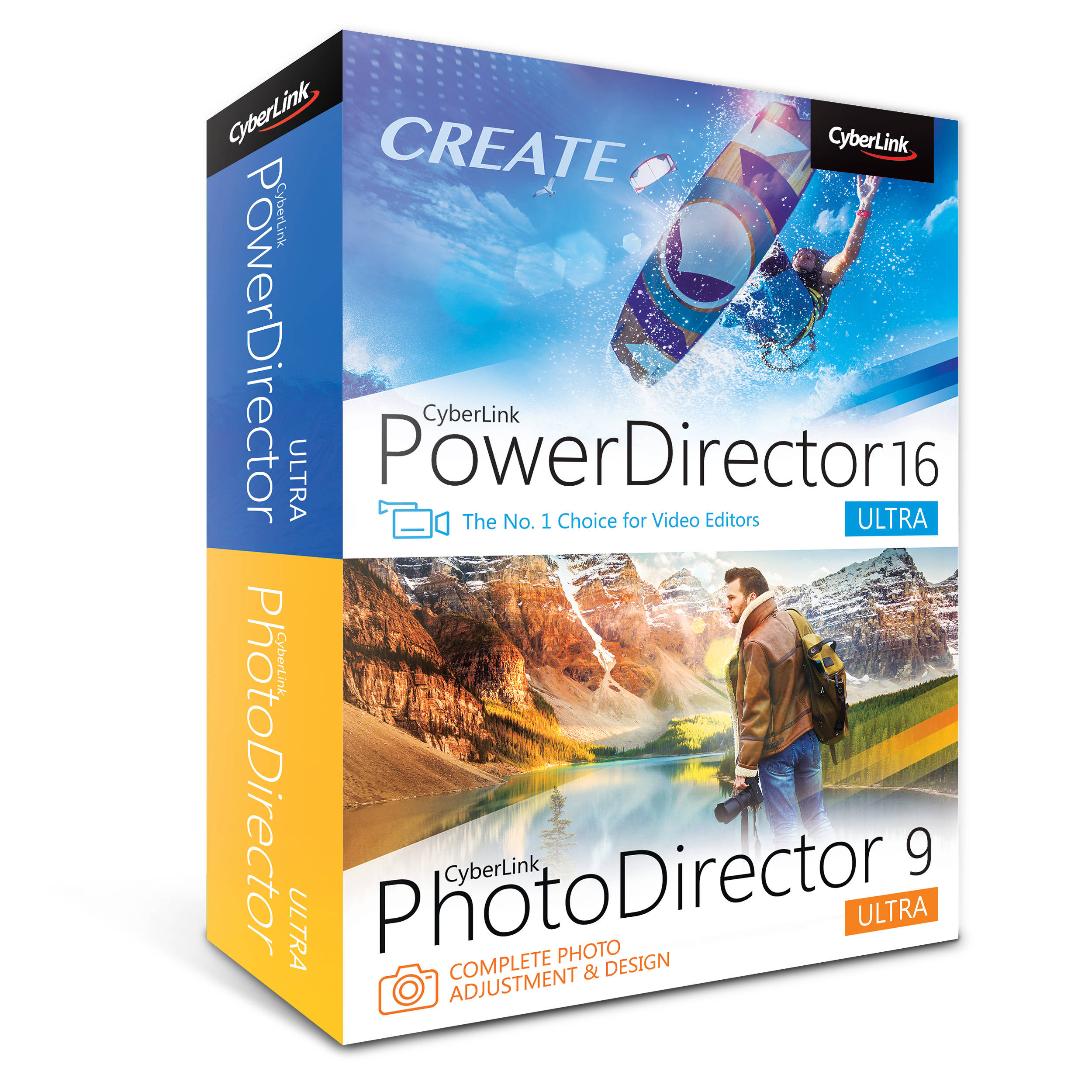 Cyberlink powerdirector 16 ultra pnp e100 rpt0 00 b h for Powerdirector dvd menu templates