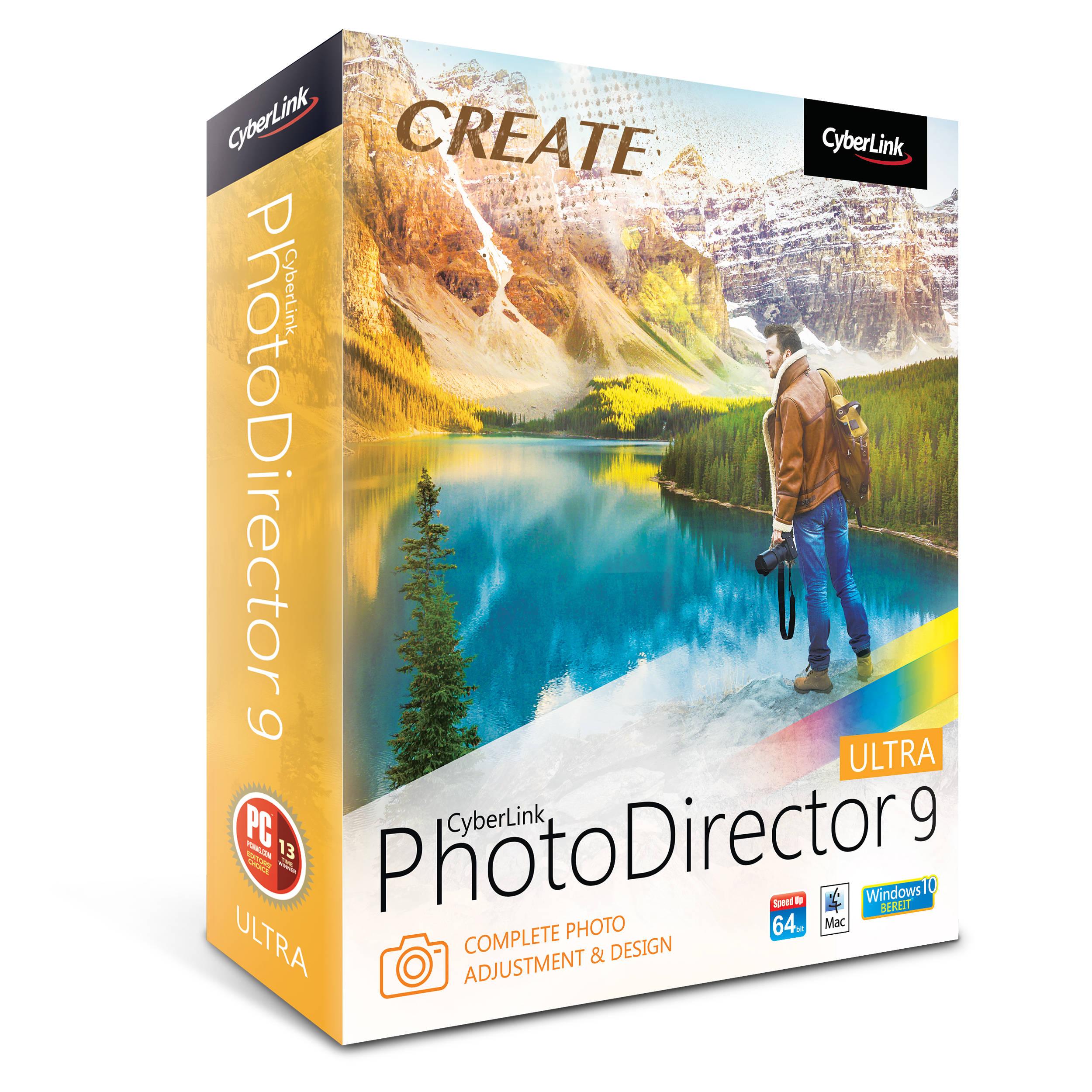 Resultado de imagen para cyberlink photodirector 9 box
